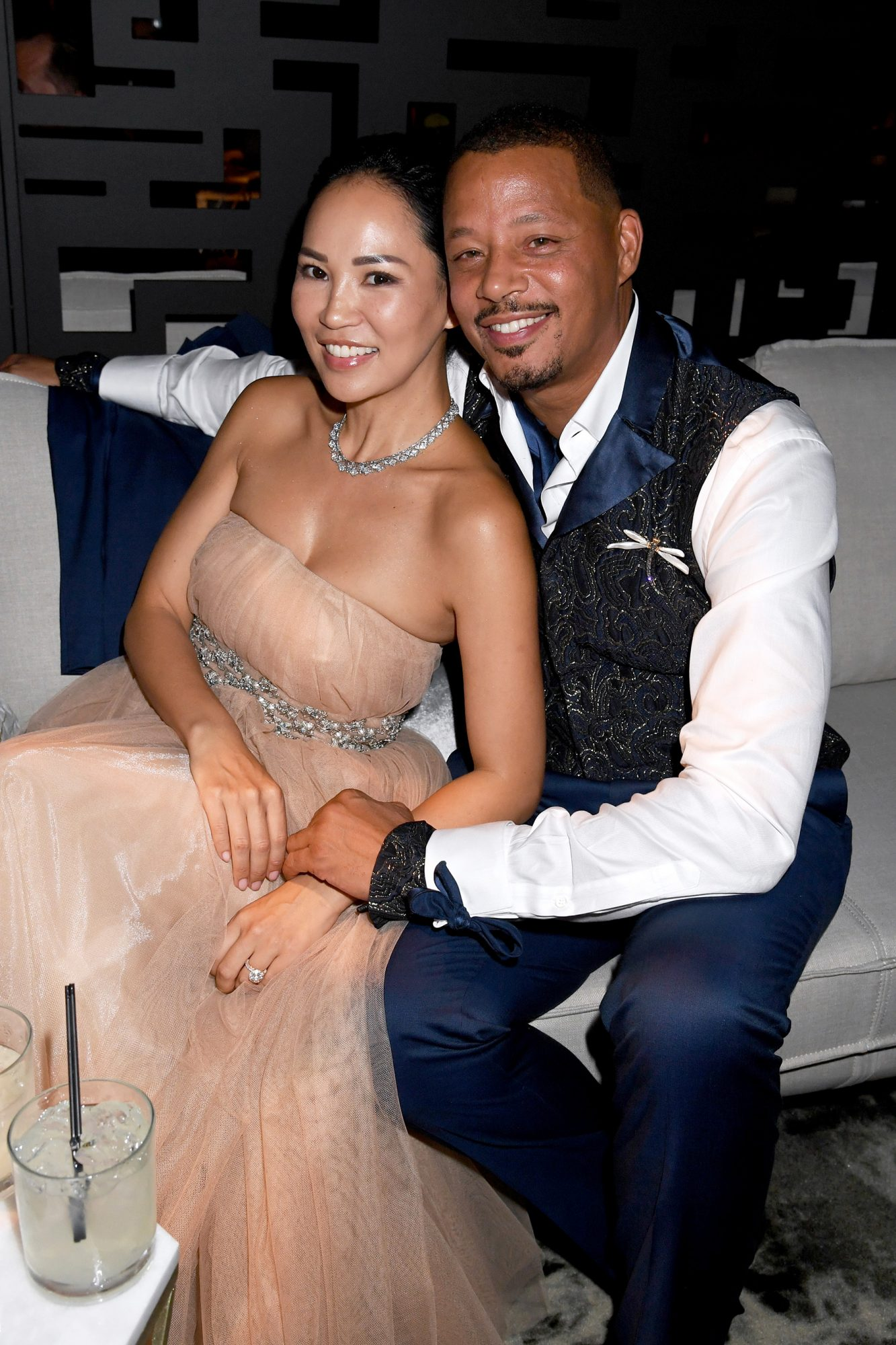 Miranda Park and Terrance Howard