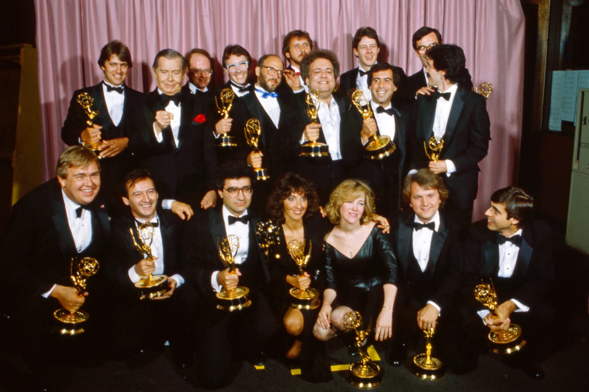 Eugene Levy & Catherine O'Hara (Check Them Out in the Front Row!)