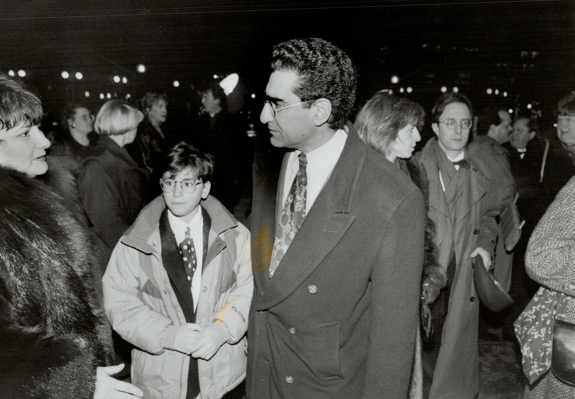 Eugene Levy with Son Daniel