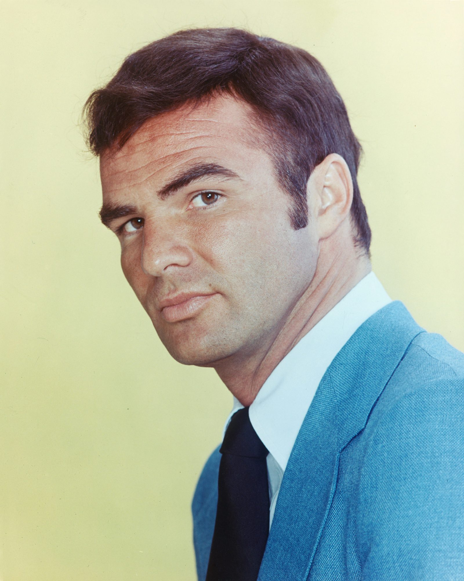 Do you like a clean-faced Burt Reynolds?
