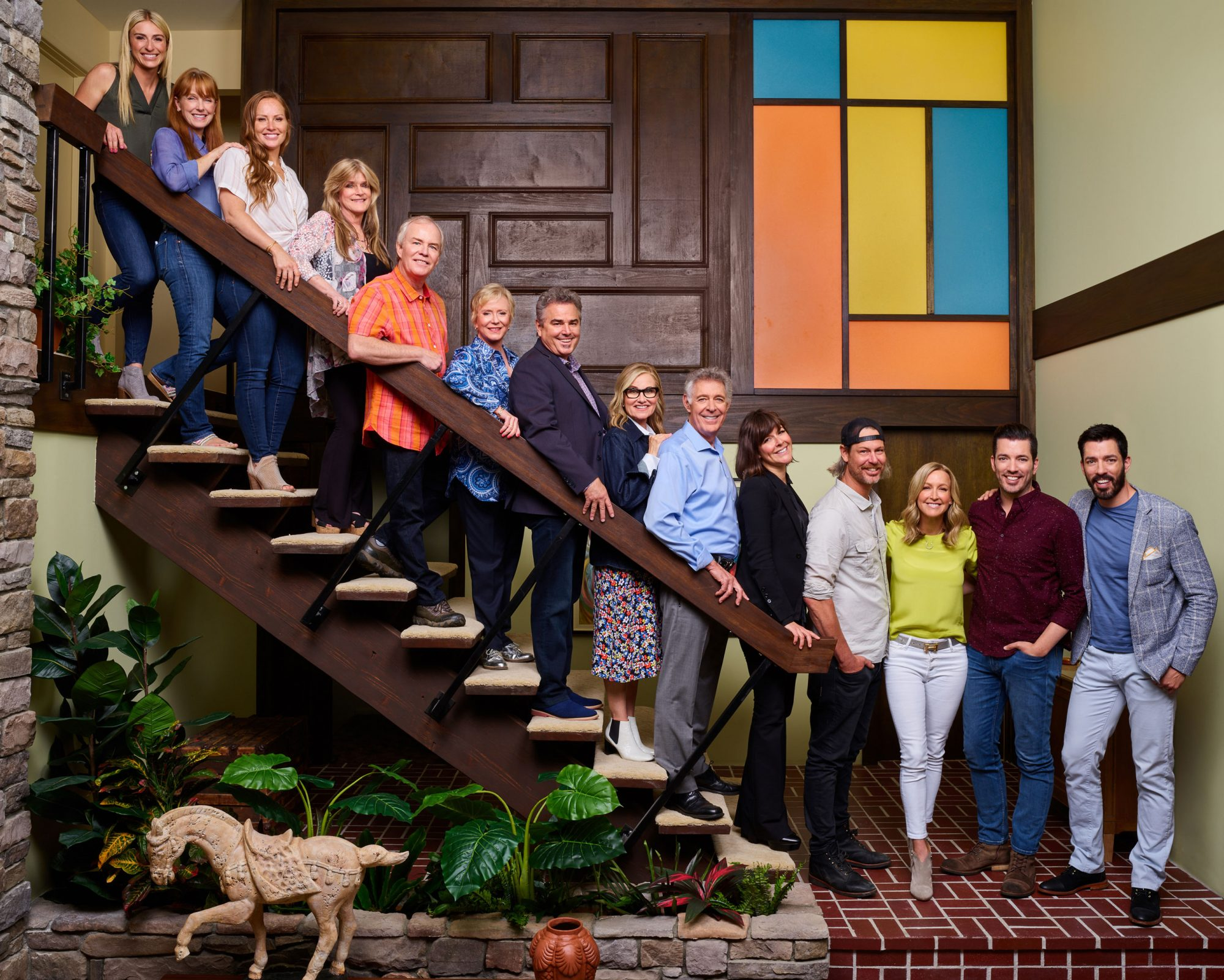 Brady Bunch cast - A Very Brady Renovation.