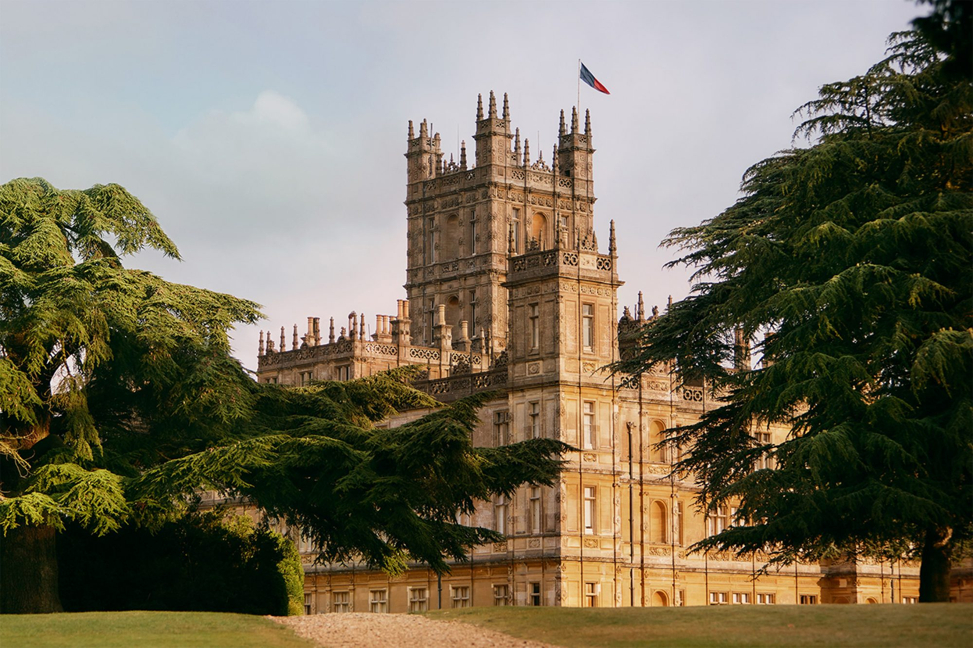Downton Abbey house on Airbnb