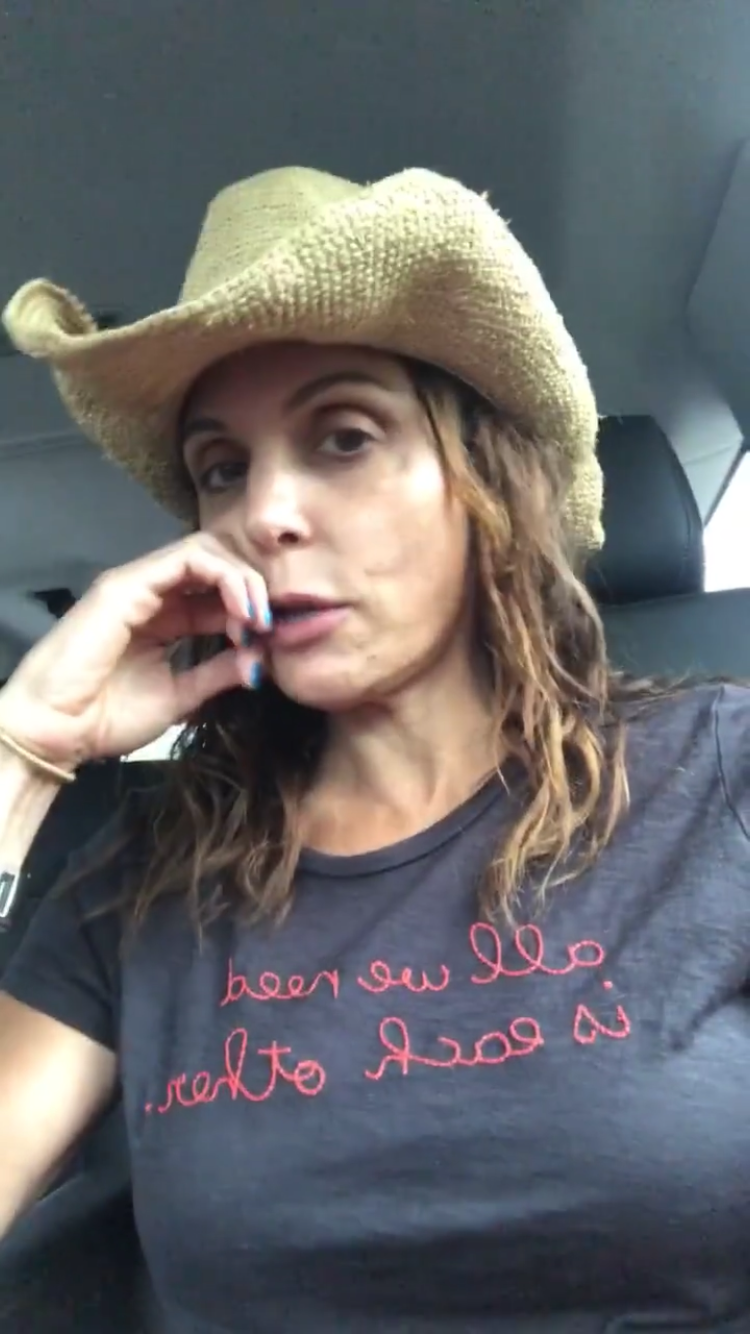 Bethenny Frankel Travels to Florida and the Bahamas to Help Hurricane Relief.