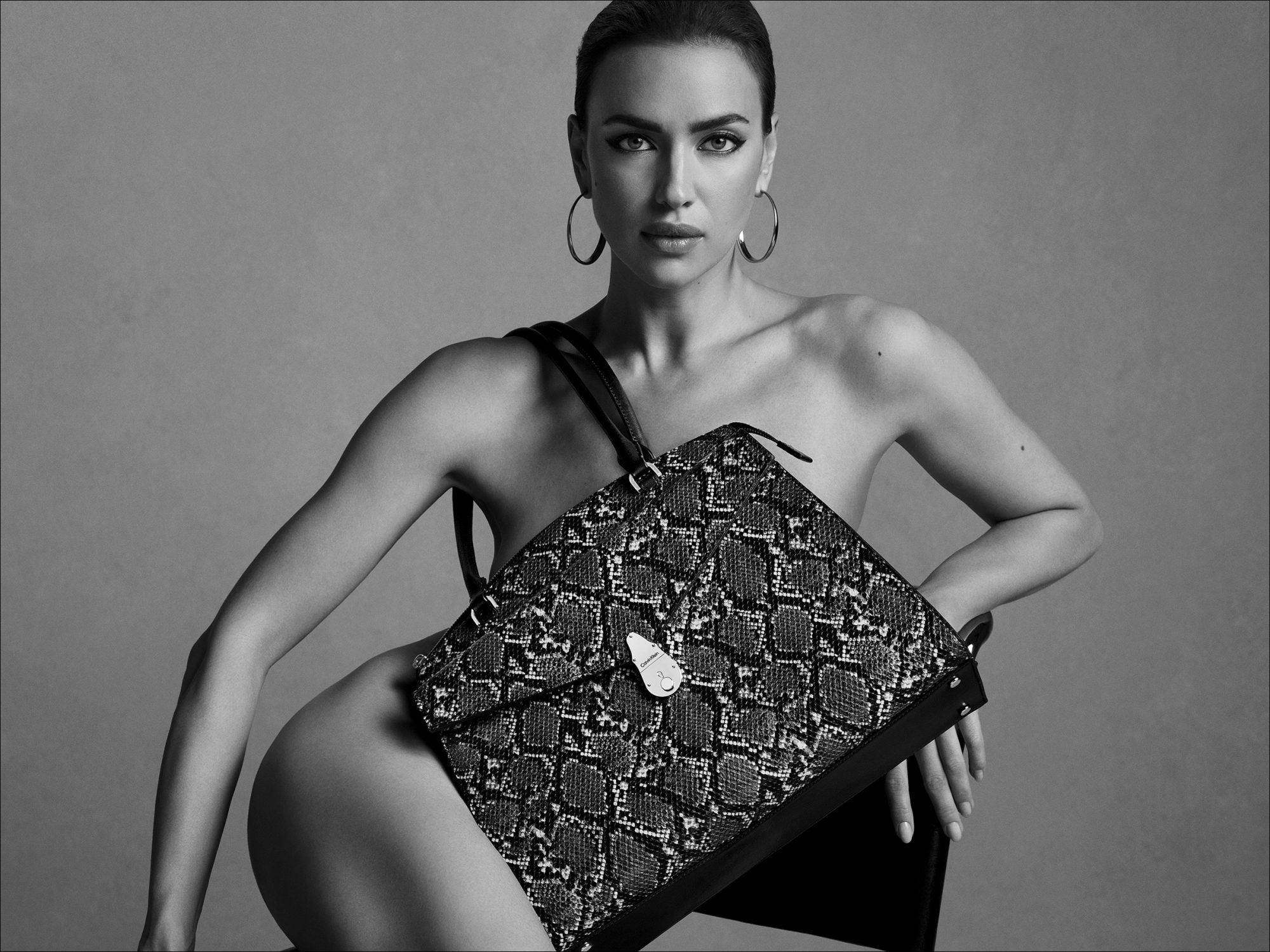 Irina Shayk Poses Nude in New Ad Campaign 3 Months After Bradley Cooper Split
