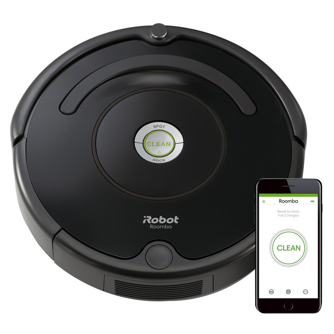 iRobot Roomba 675 Wi-Fi Connected Robot Vacuum Cleaner from The Home Depot
