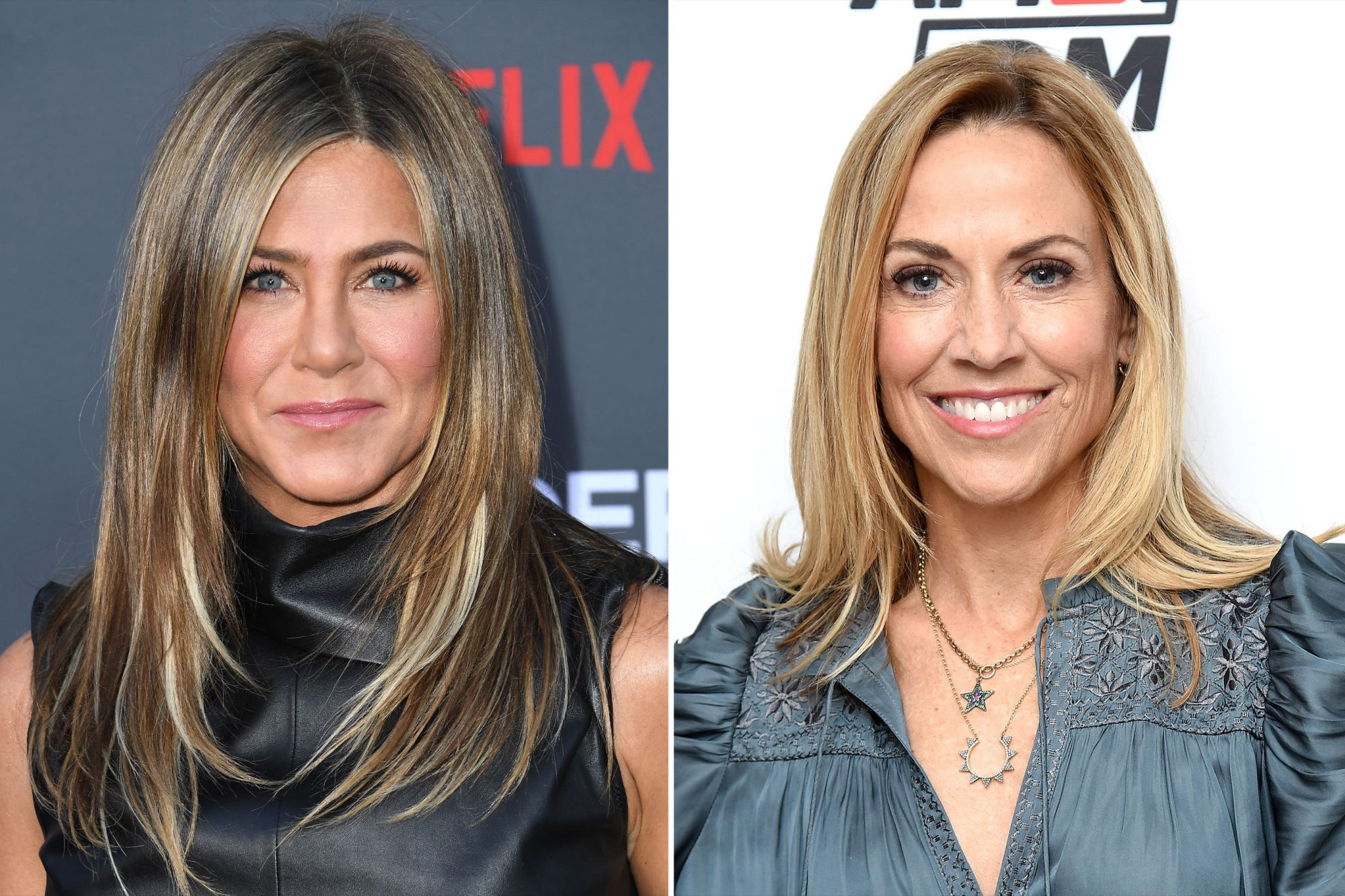 Jennifer Aniston & Sheryl Crow