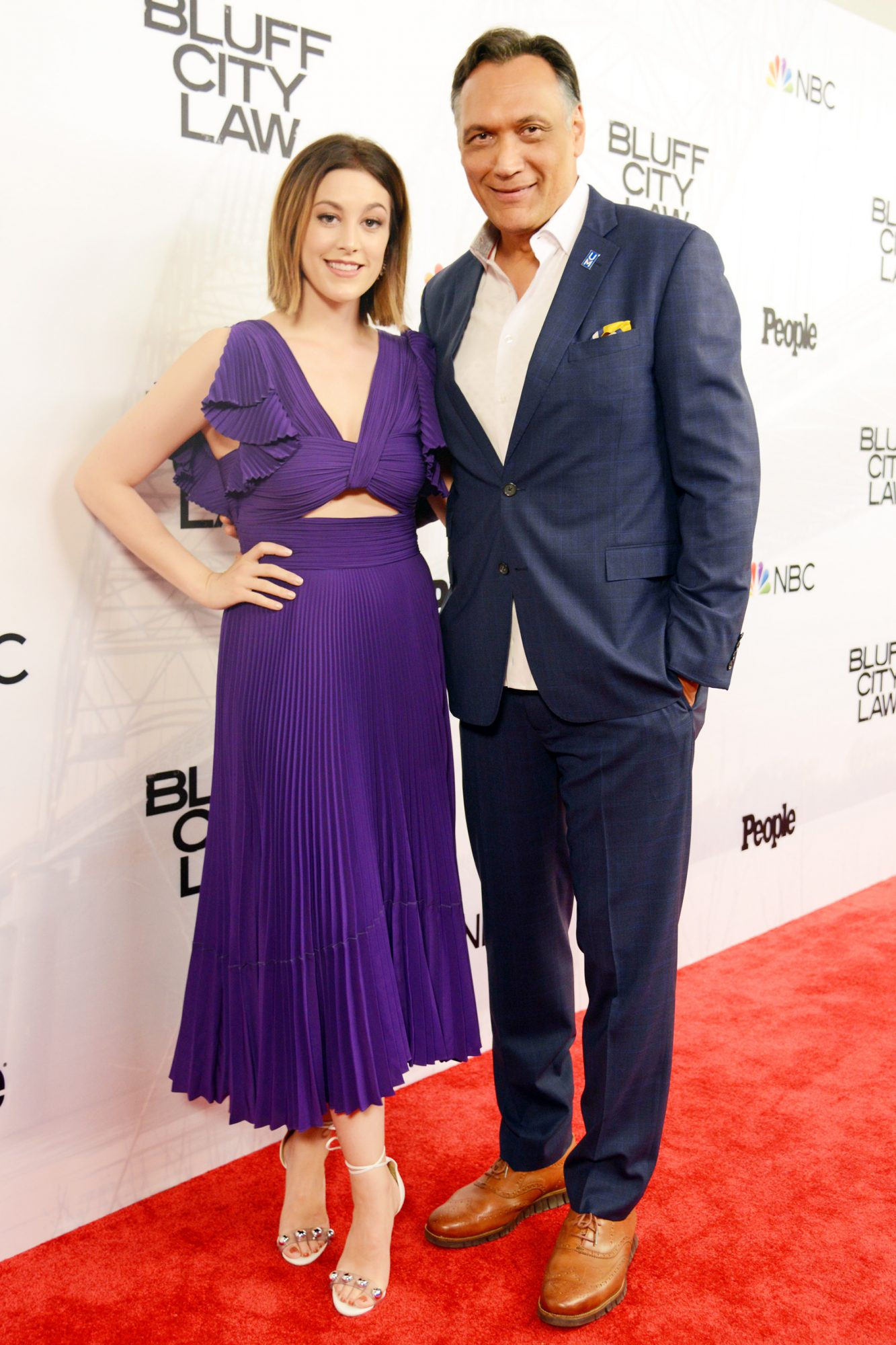 Caitlin McGee, Jimmy Smits