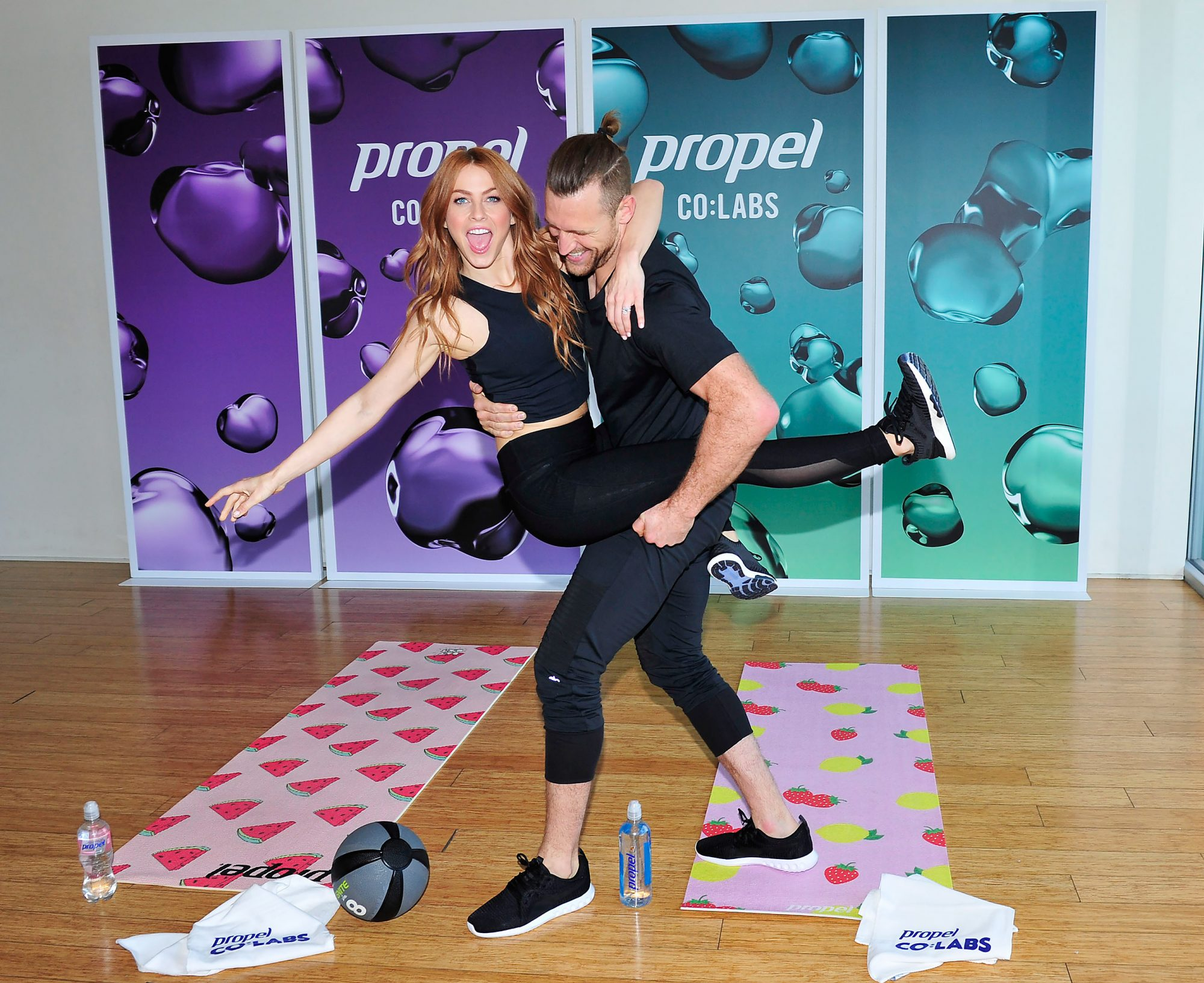 Julianne Hough and Husband Teamed up With Propel