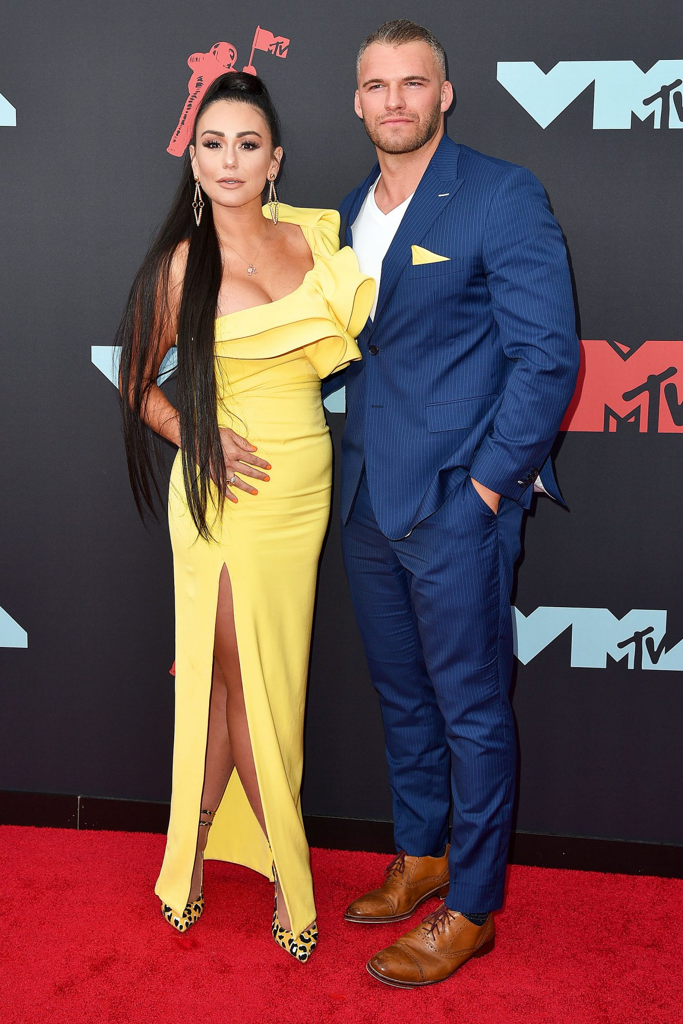 Jennifer Jwoww Farley and Clayton Carpinello