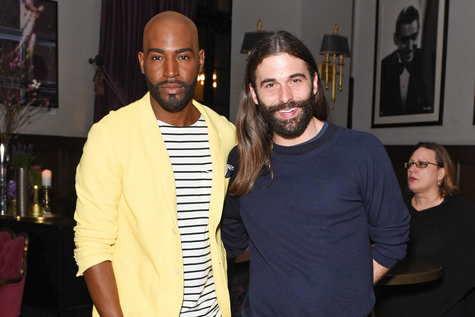 Karamo Brown and Jonathan Van Ness