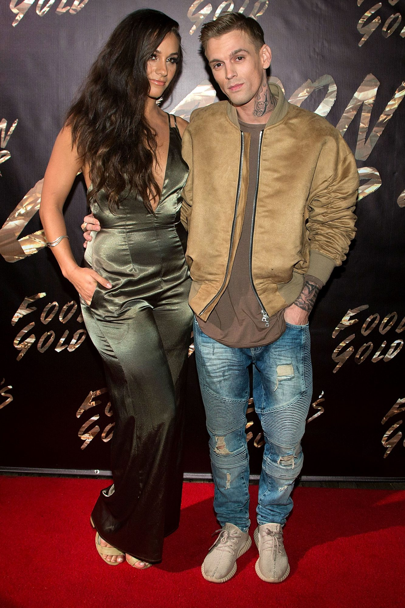 Aaron Carter's Extra-Brief Engagement to a Playboy Model