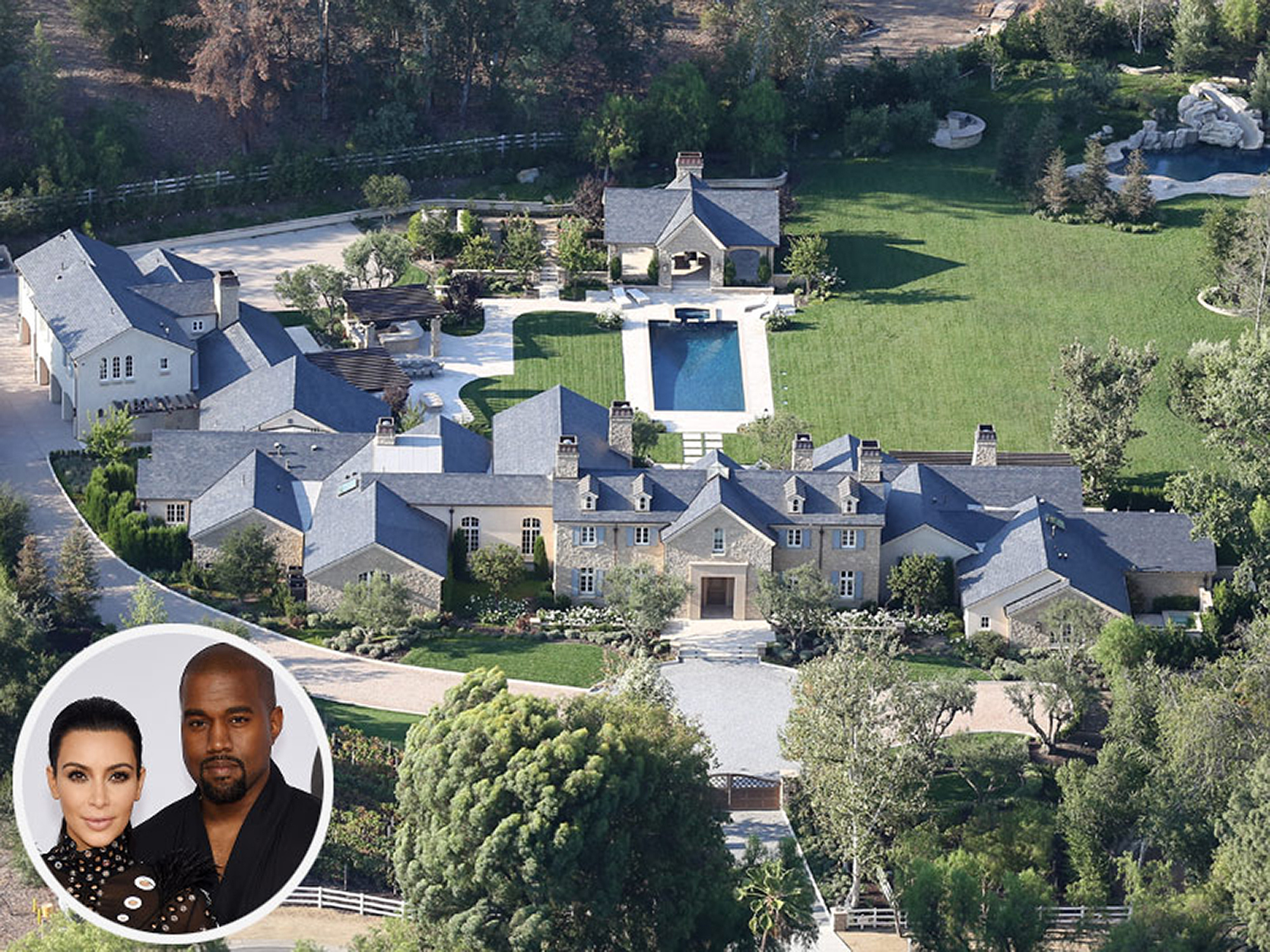 Kim and Kanye West's Over-the-Top Estate