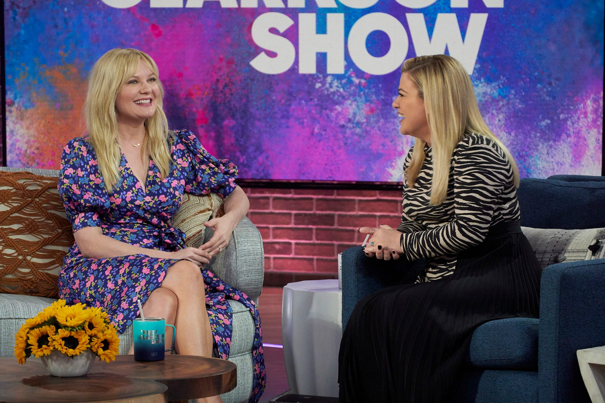 Kirsten Dunst, Kelly Clarkson THE KELLY CLARKSON SHOW