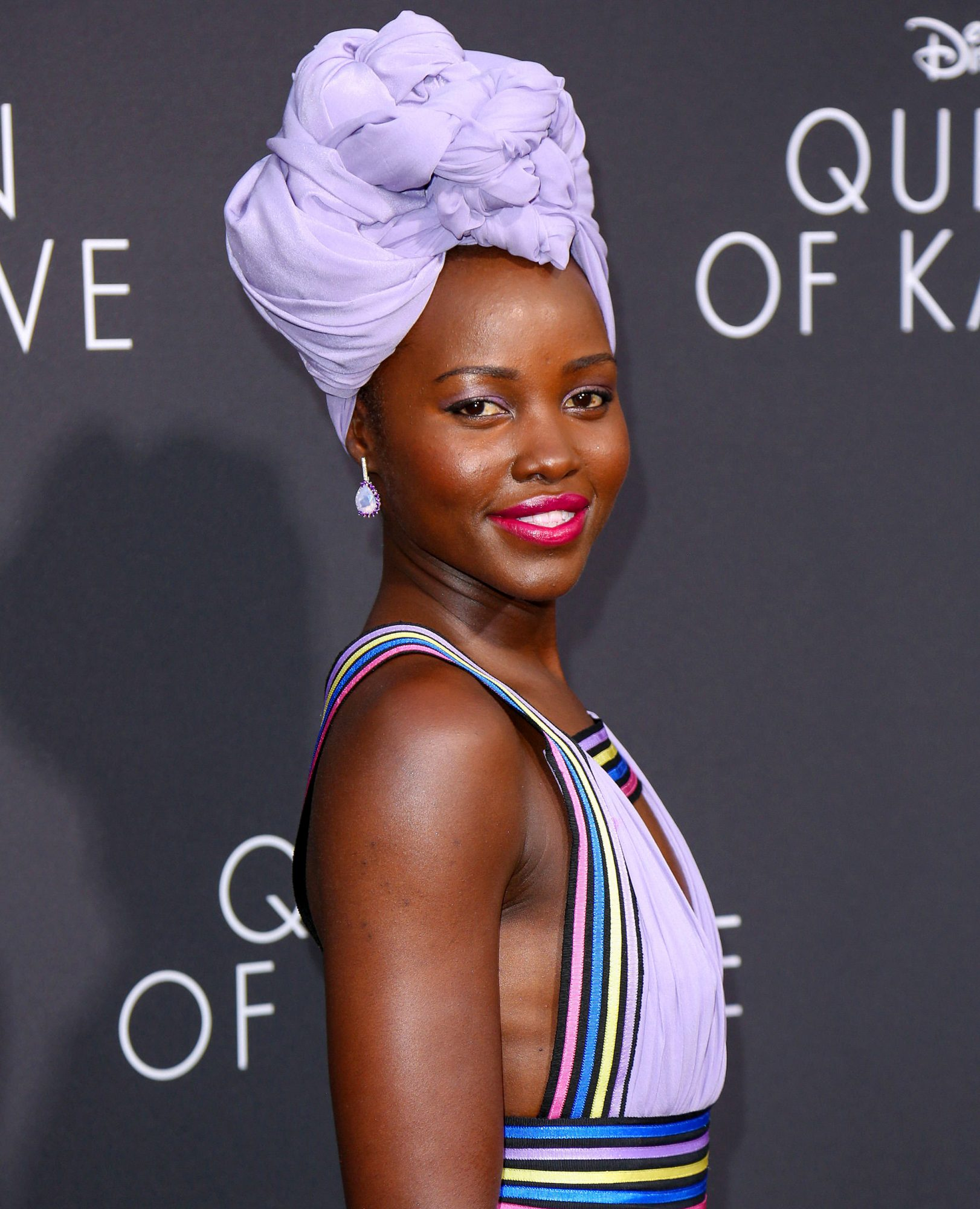 Premiere Of Disney's Queen Of Katwe at The El Capitan Theatre