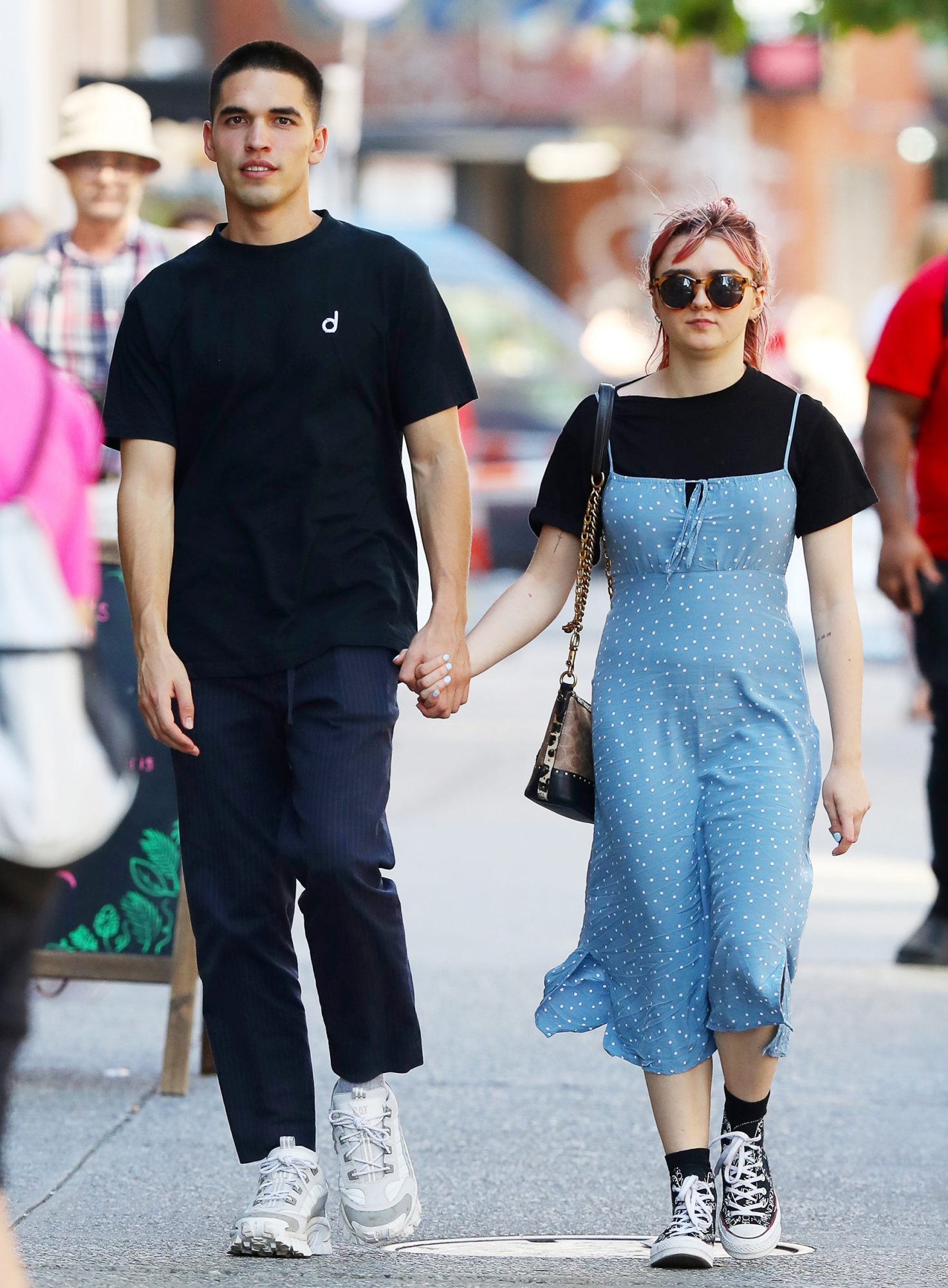 Maisie Williams and boyfriend Reuben Selby