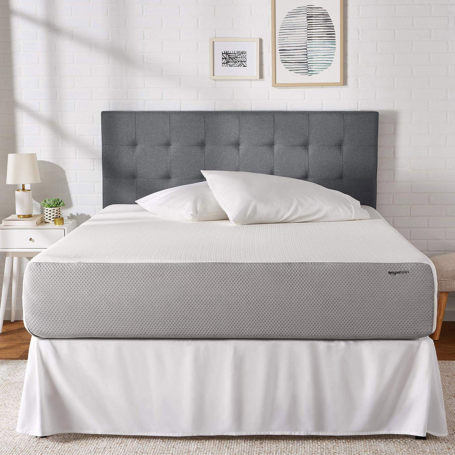 Soft and plush memory foam mattress
