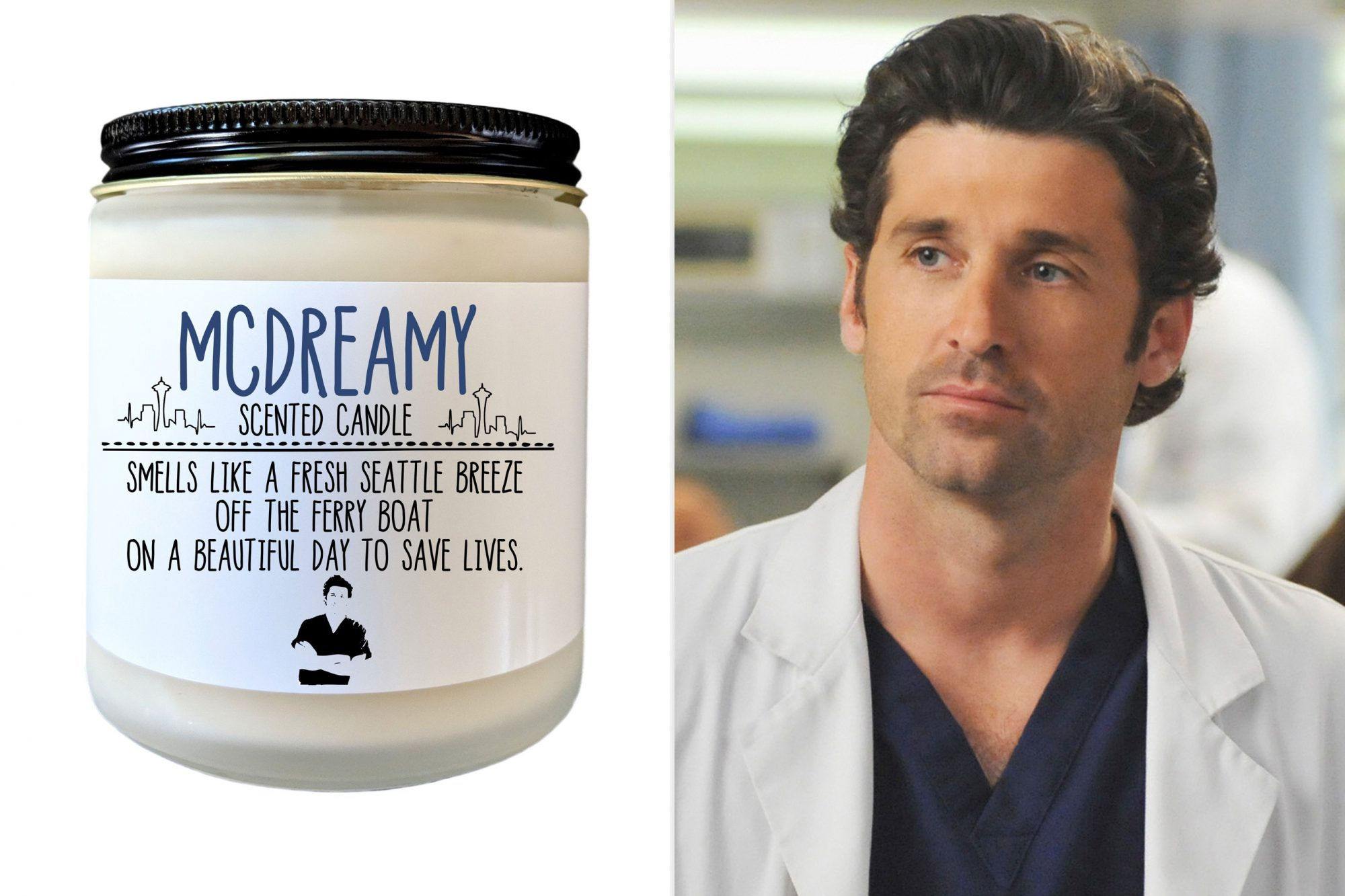McDreamy candle