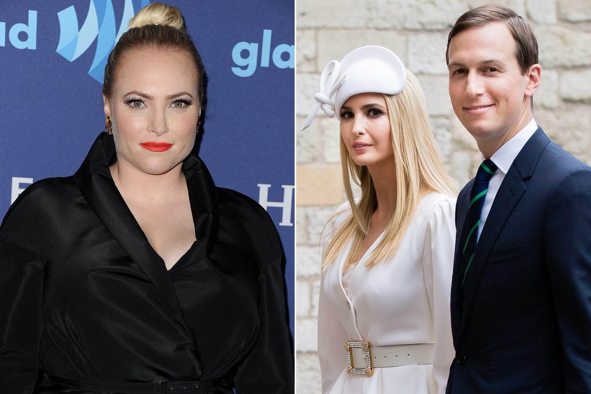 Meghan McCain, Ivanka Trump and Jared Kushner