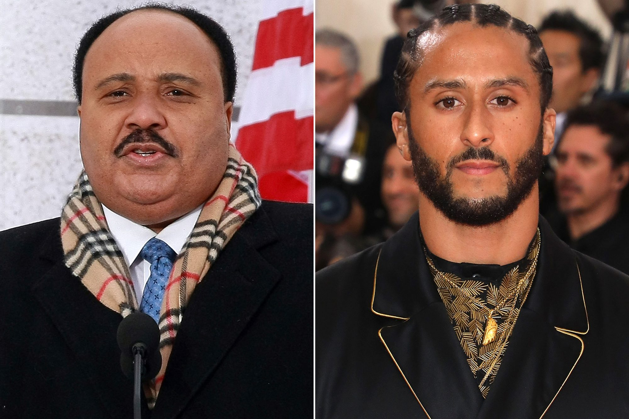 Martin Luther King III, Colin Kaepernick