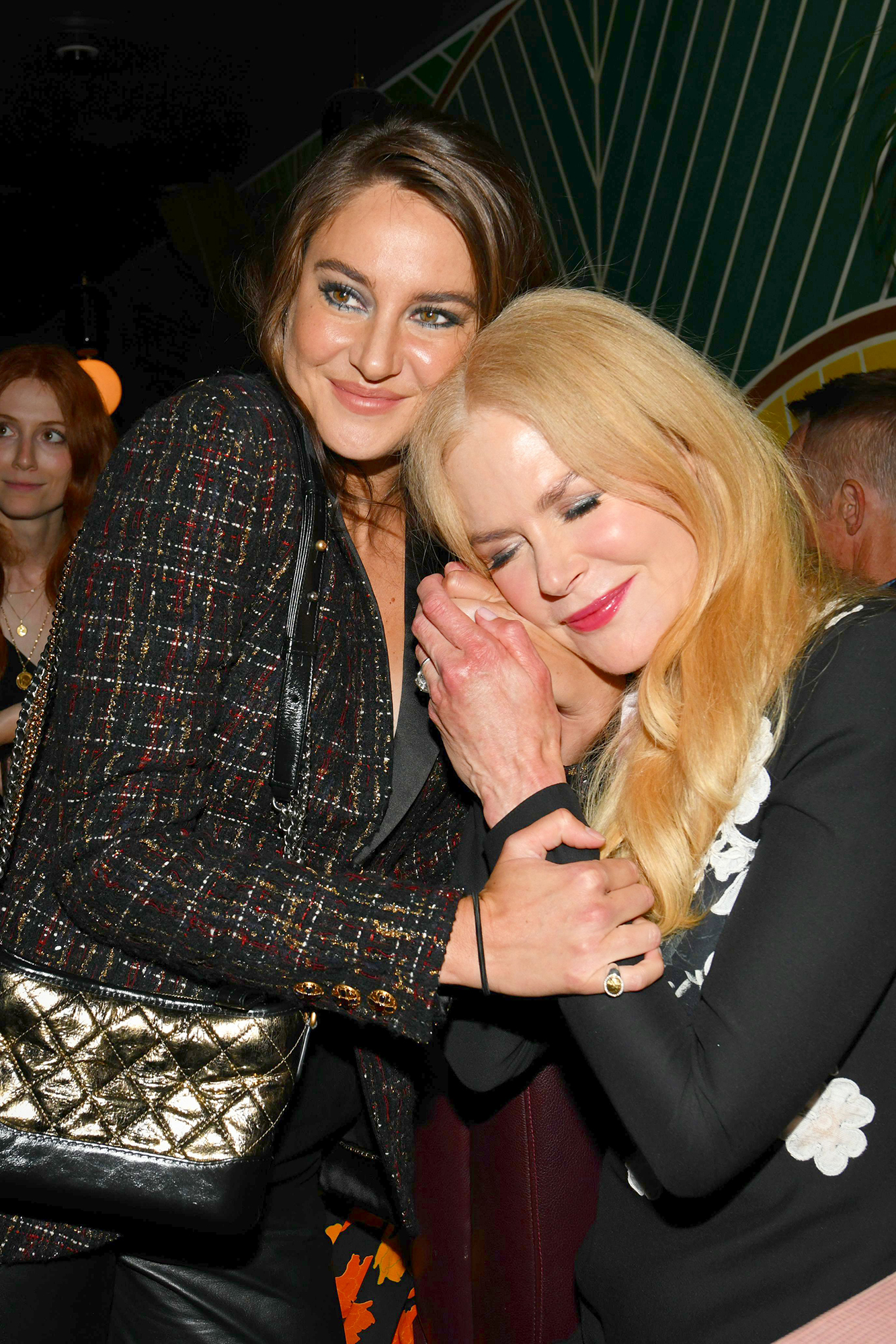 Shailene Woodley and Nicole Kidman