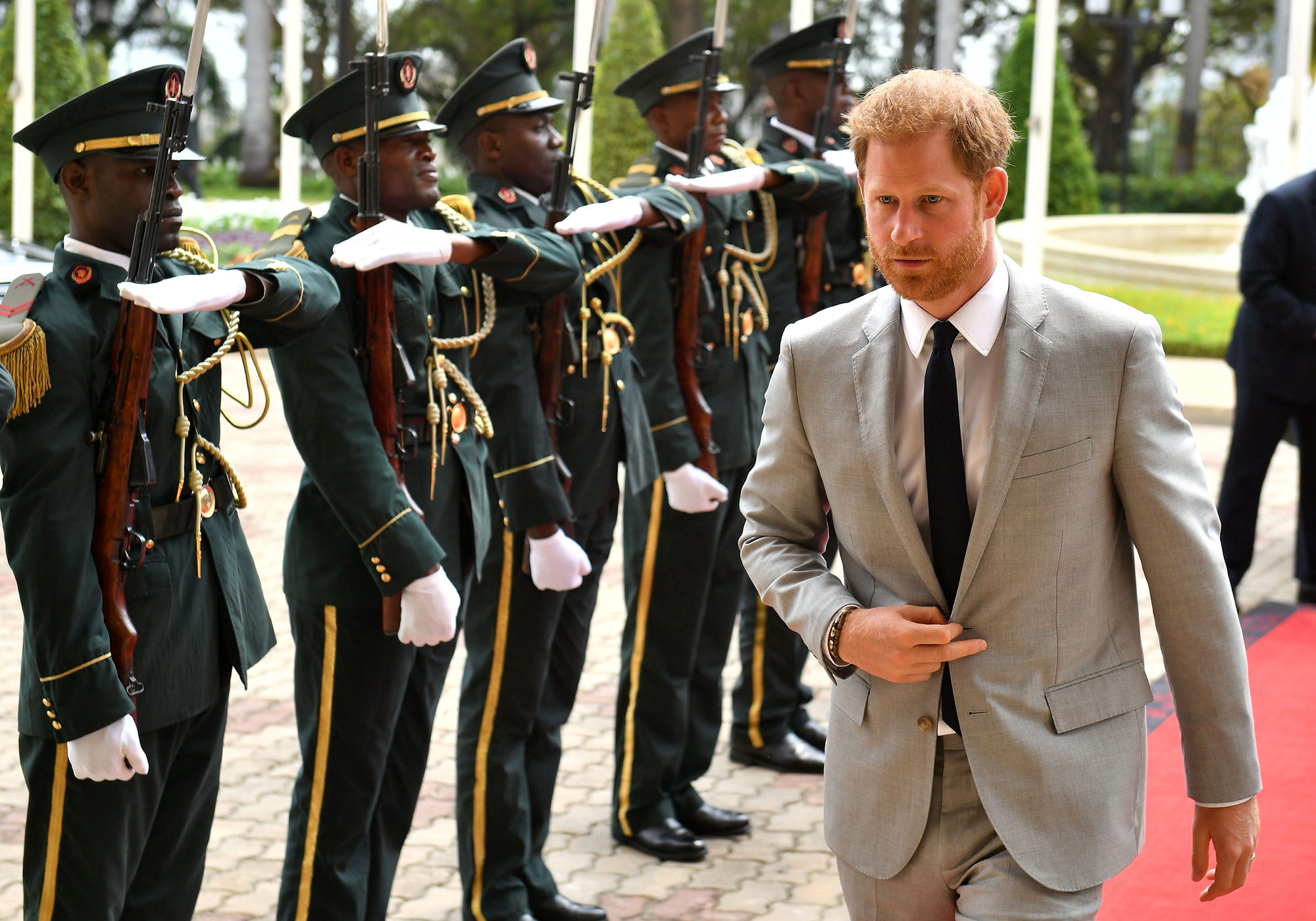 The Duke Of Sussex Visits Angola