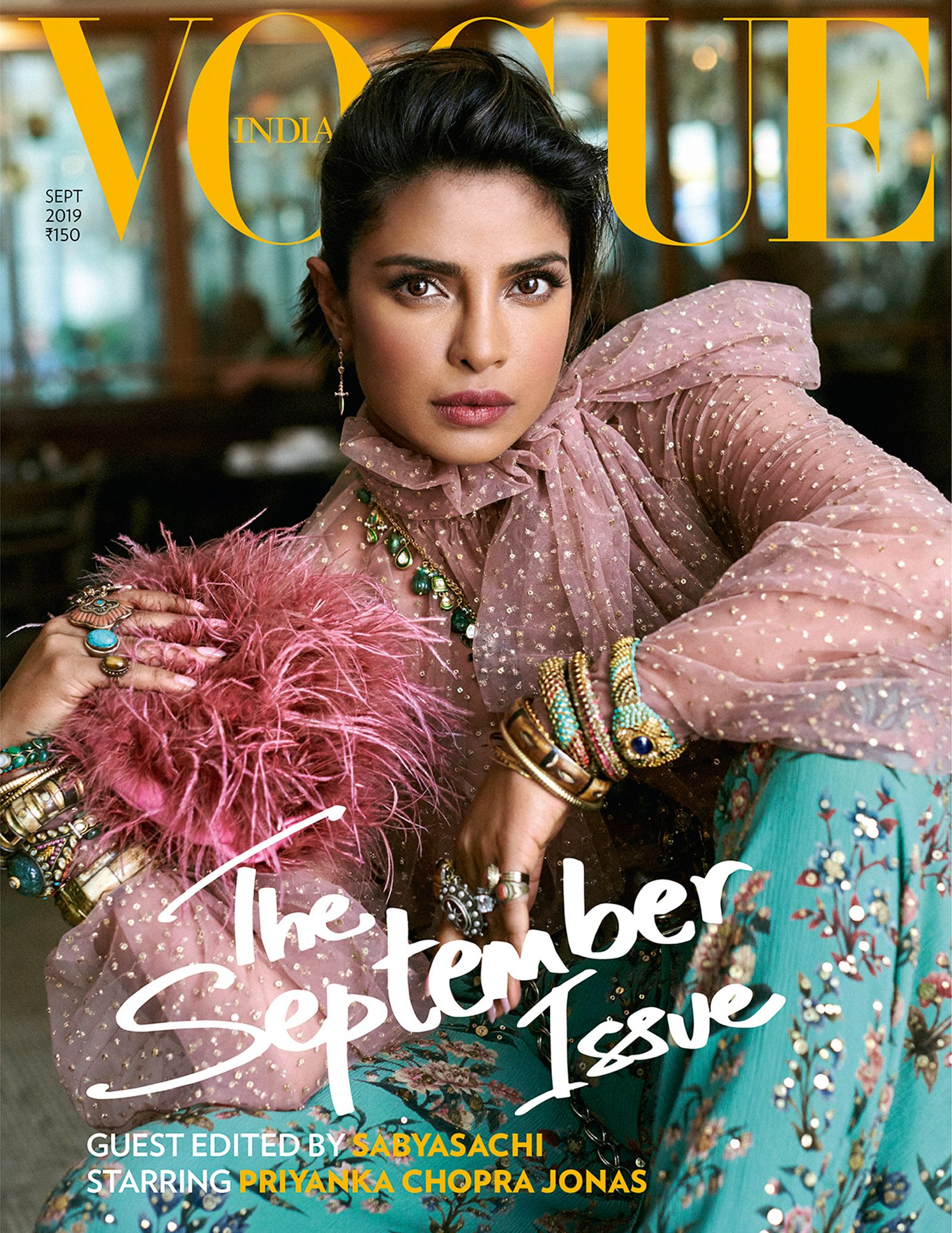 Priyanka Chopra Vogue India