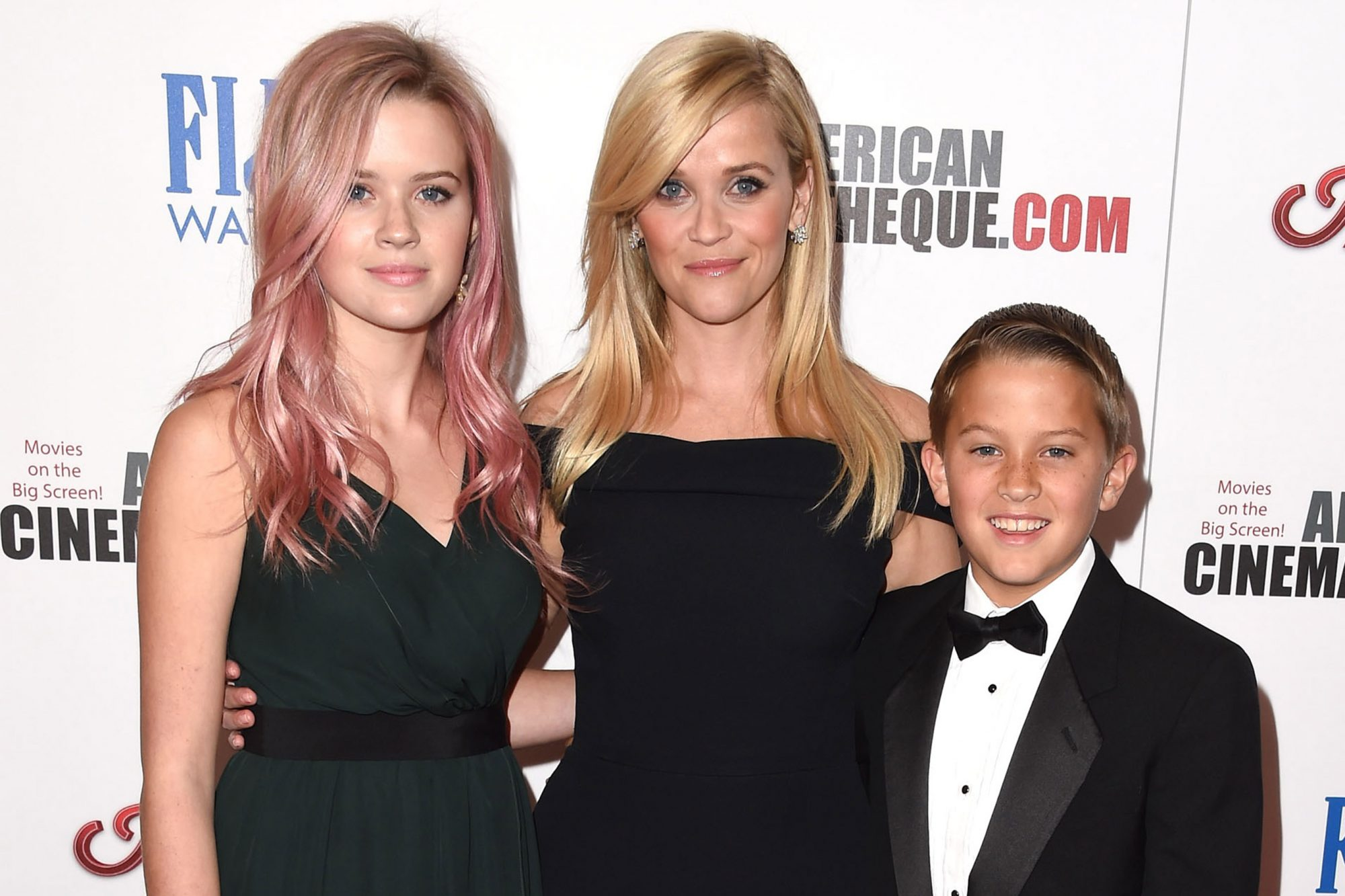 Reese Witherspoon and kids Ava Phillippe and Deacon Reese Phillippe