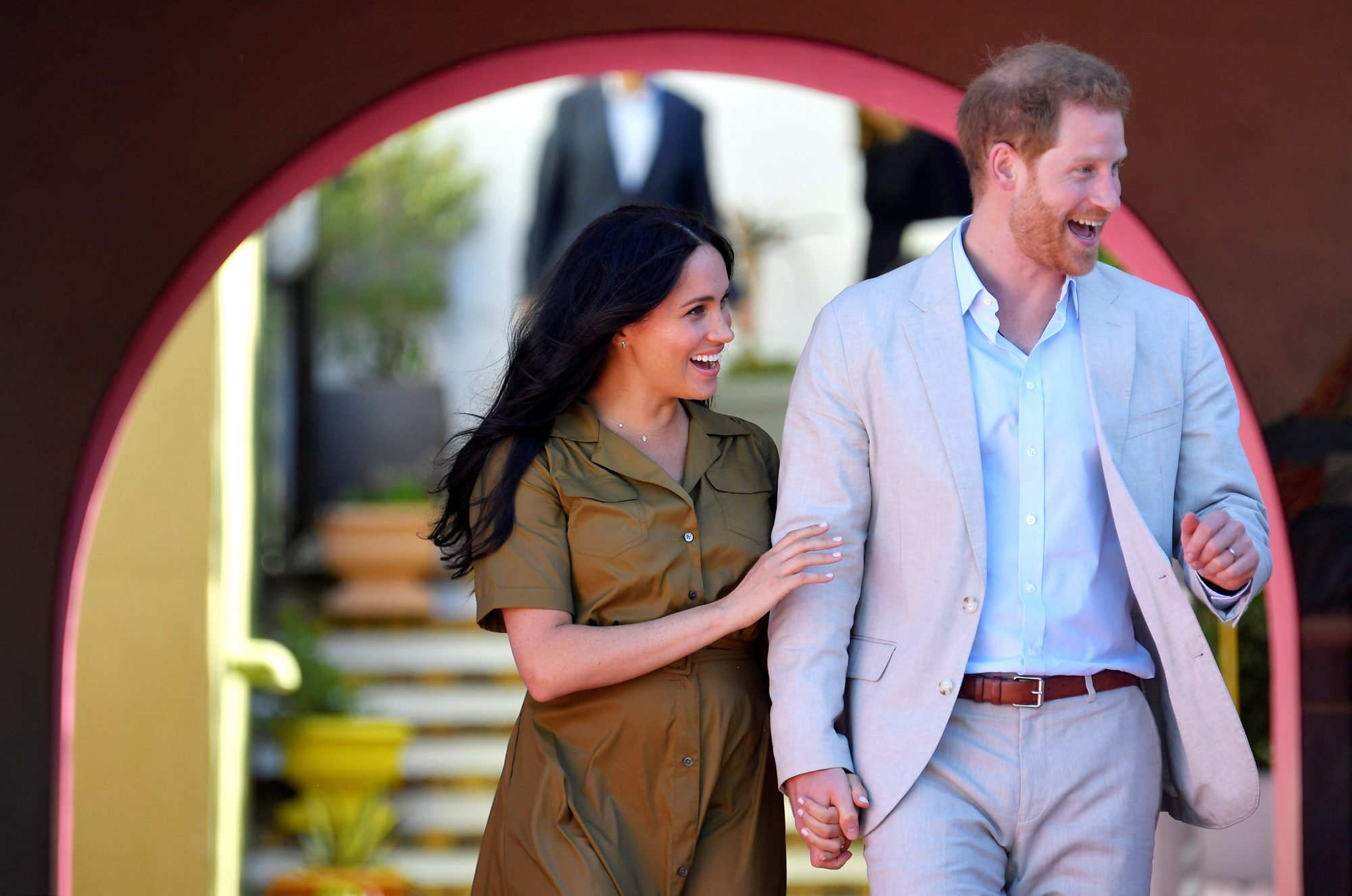 Harry Meghan Duke and Duchess of Sussex