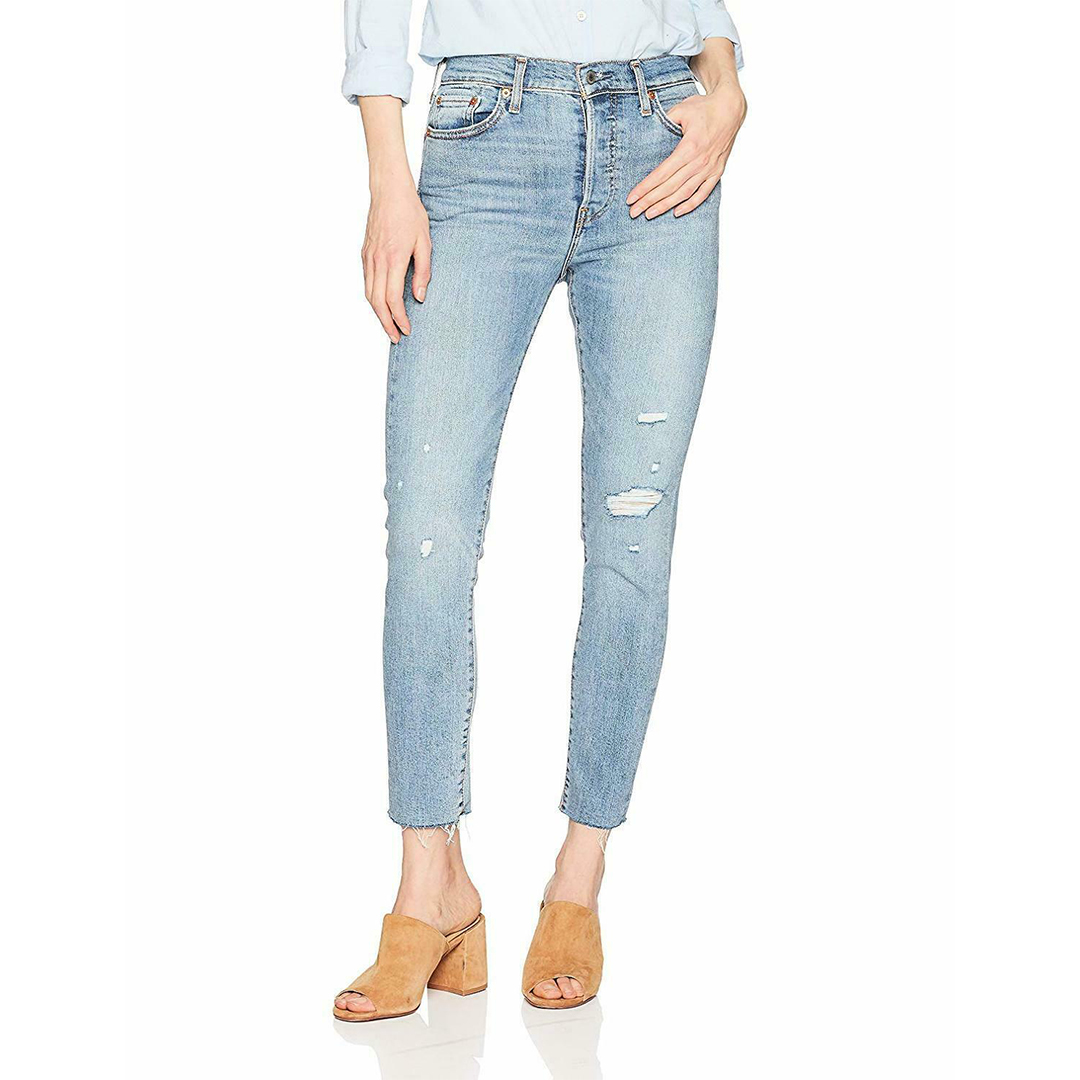Levi's Womens Wedgie Skinny Jeans Amazon