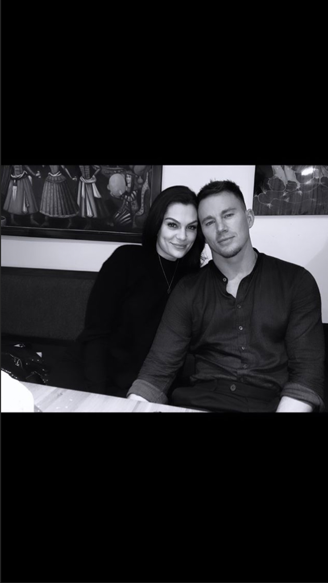 Jessie J and Channing Tatum date night