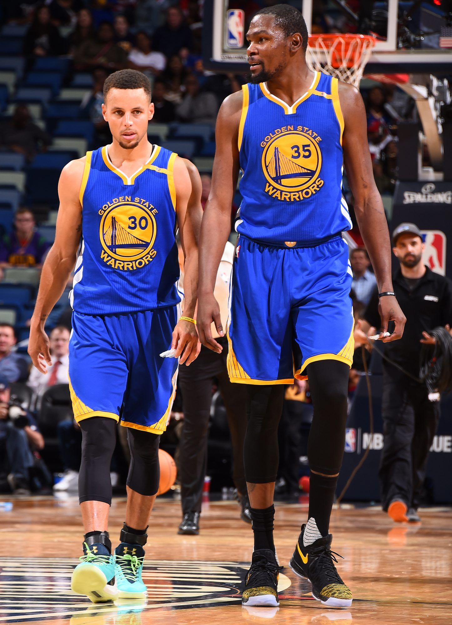 Steph Curry, Kevin Durant