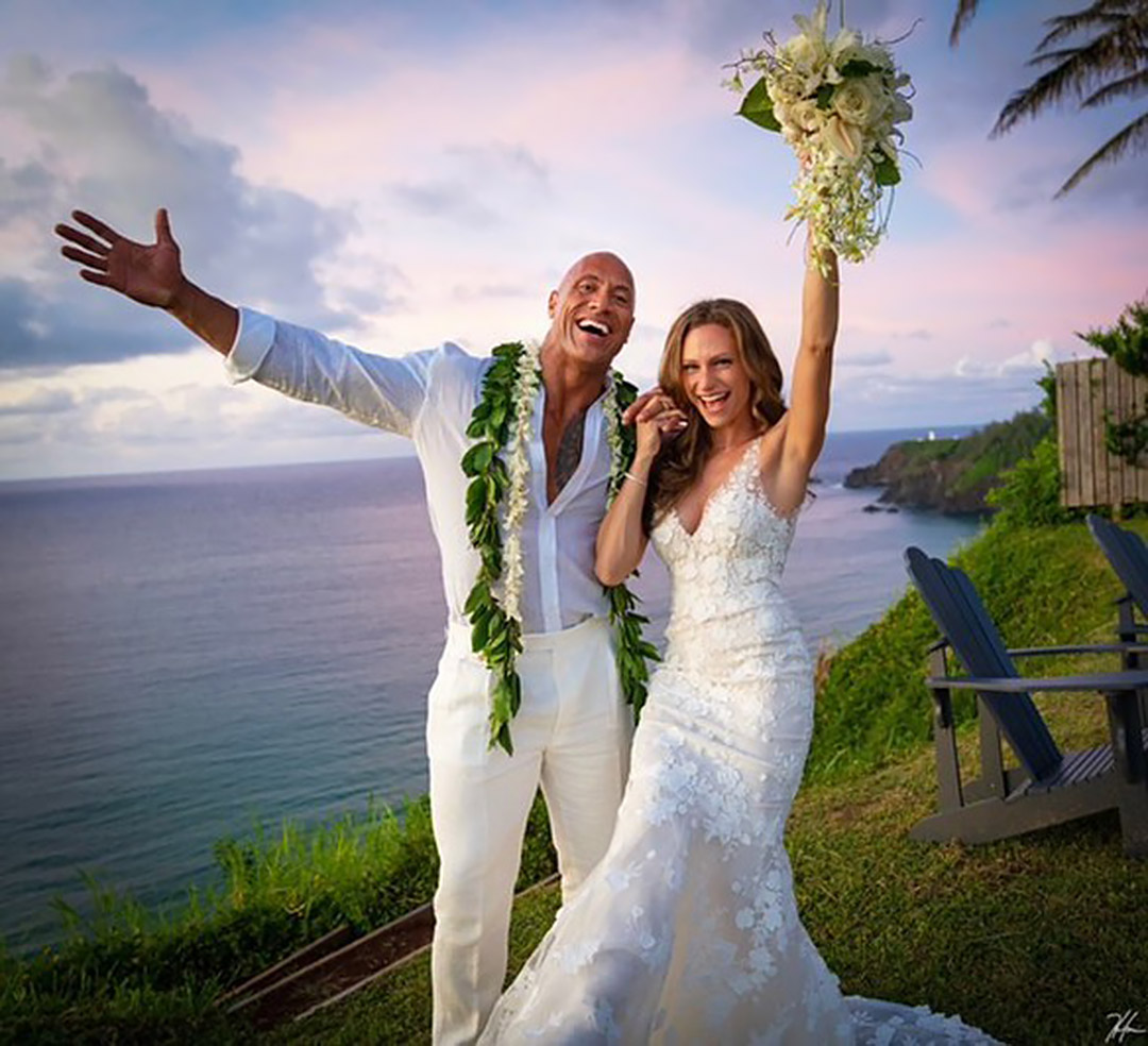 Dwayne Johnson Marries Longtime Girlfriend Lauren Hashian in Intimate Hawaii Ceremony