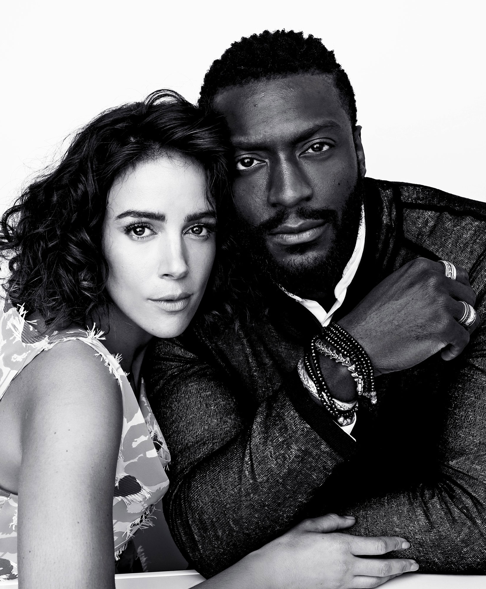 Tiffany Dupont & Aldis Hodge