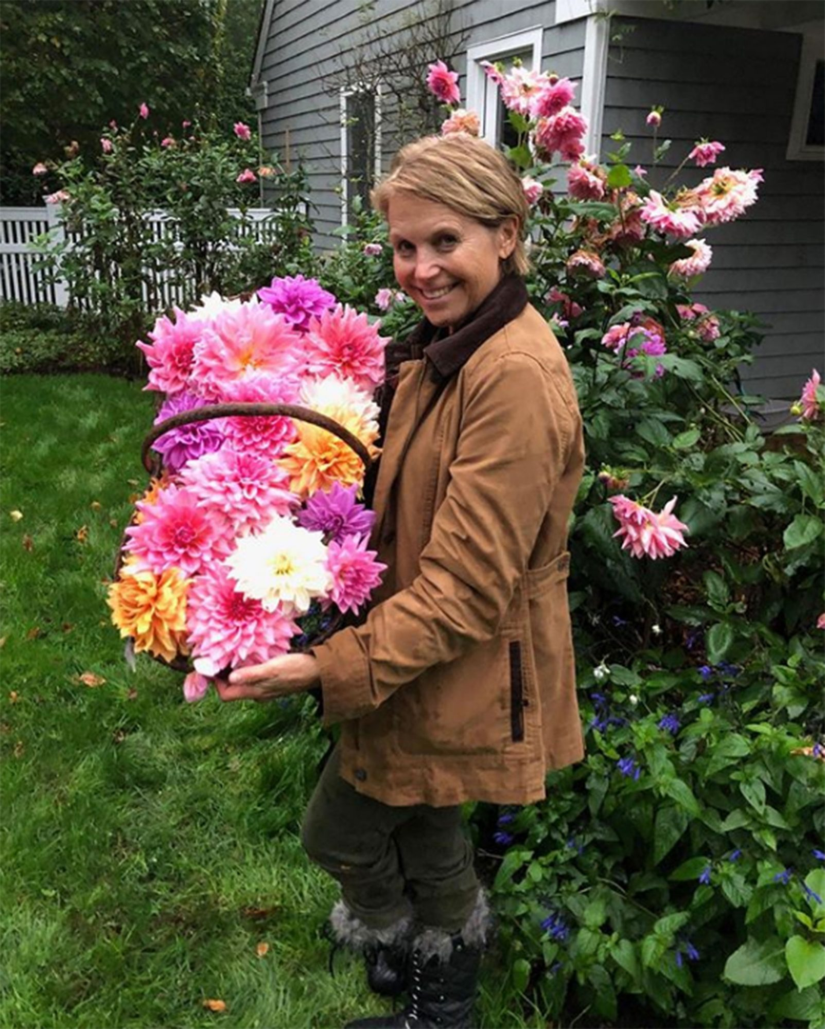 celebs at home Katie Couric
