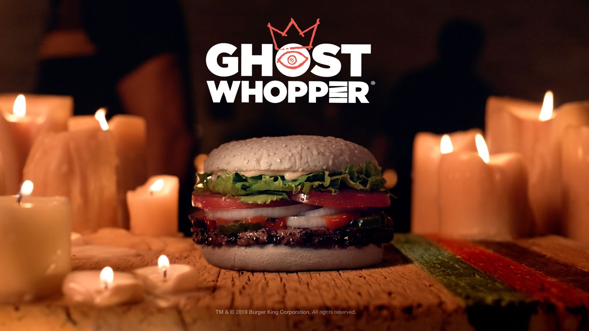 Burger King Ghost whopper