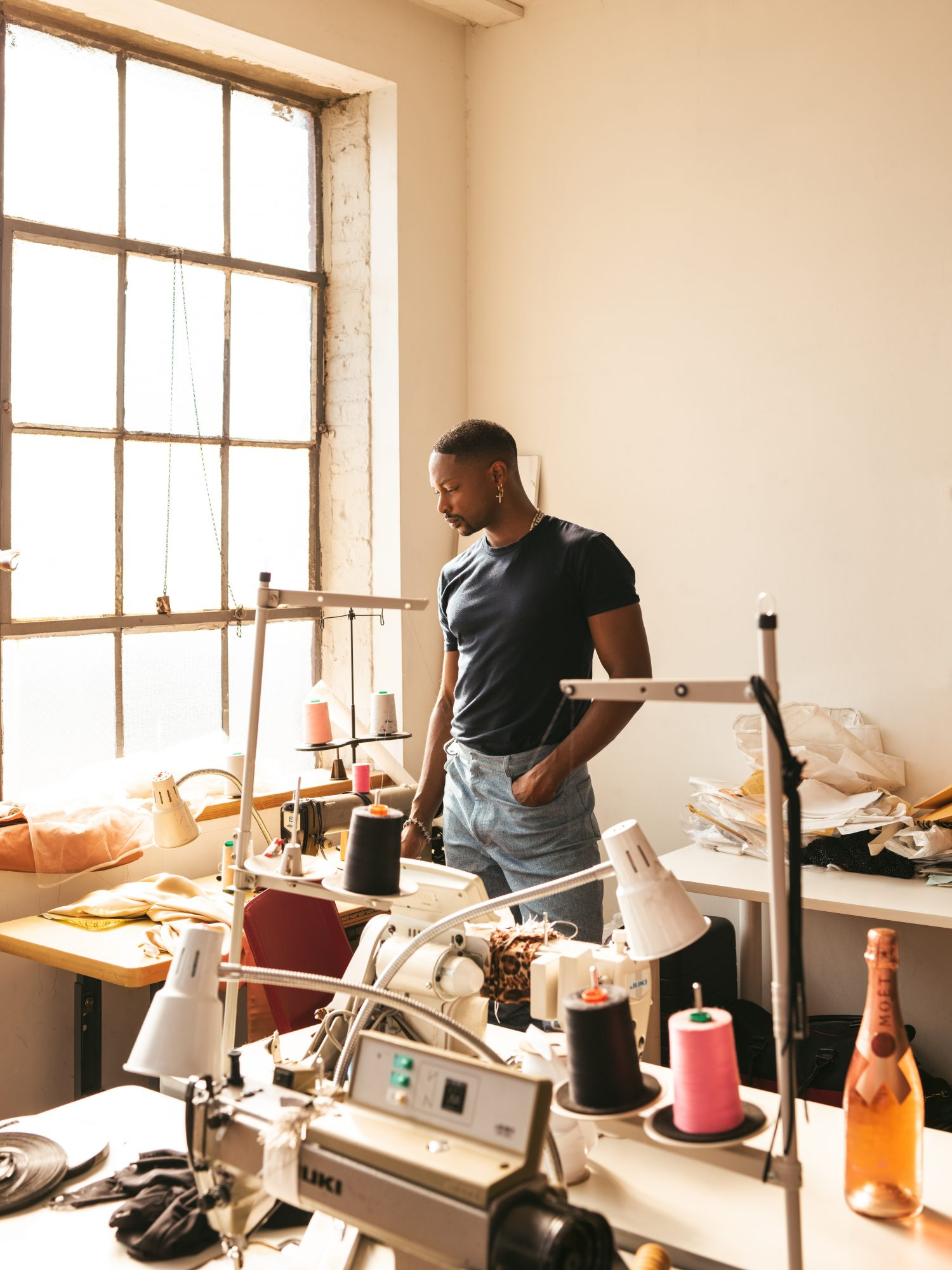 LaQuan Smith for Moët & Chandon Nectar Imperial Rose