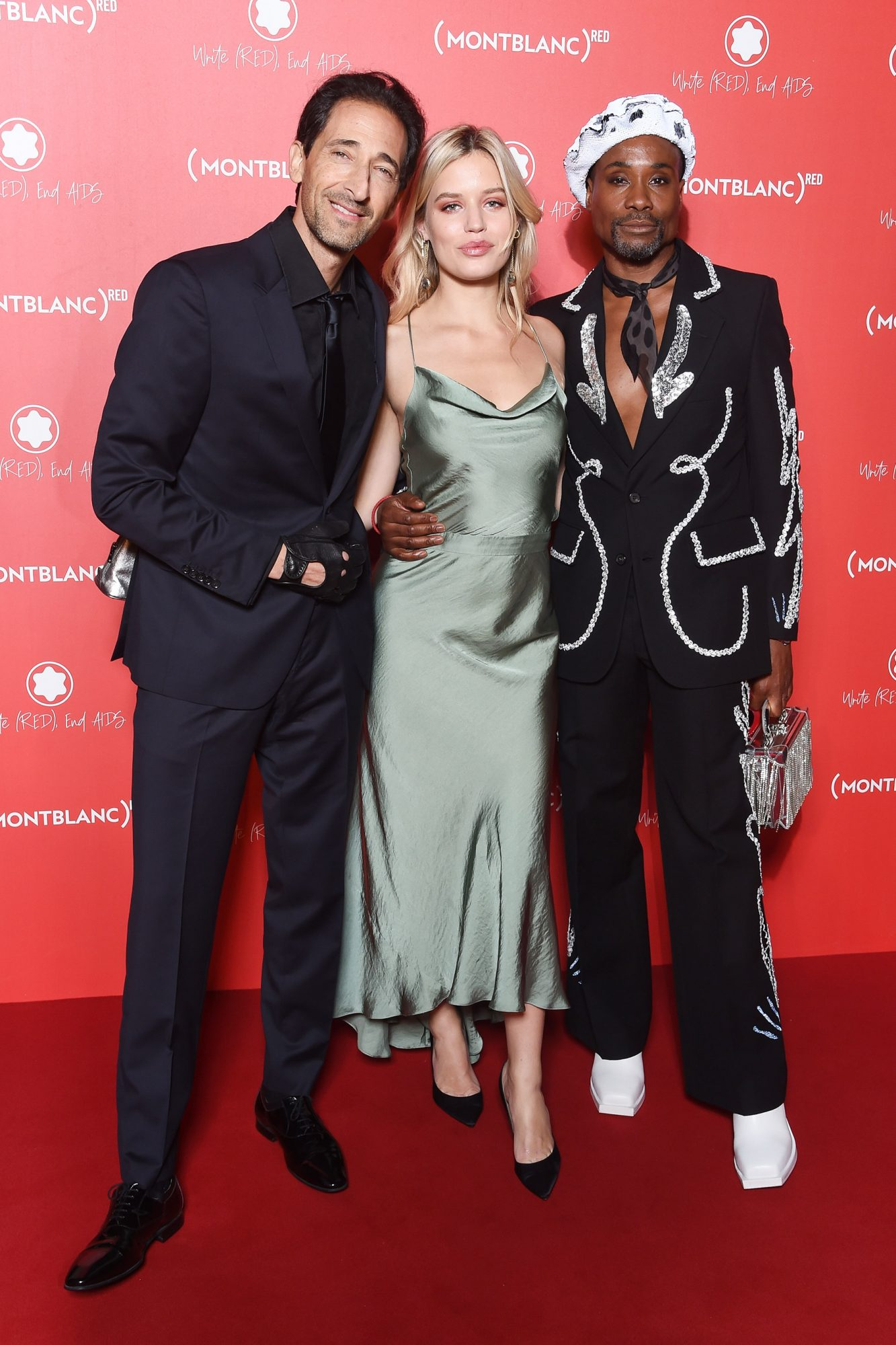Adrien Brody, Georgia May Jagger and Billy Porter