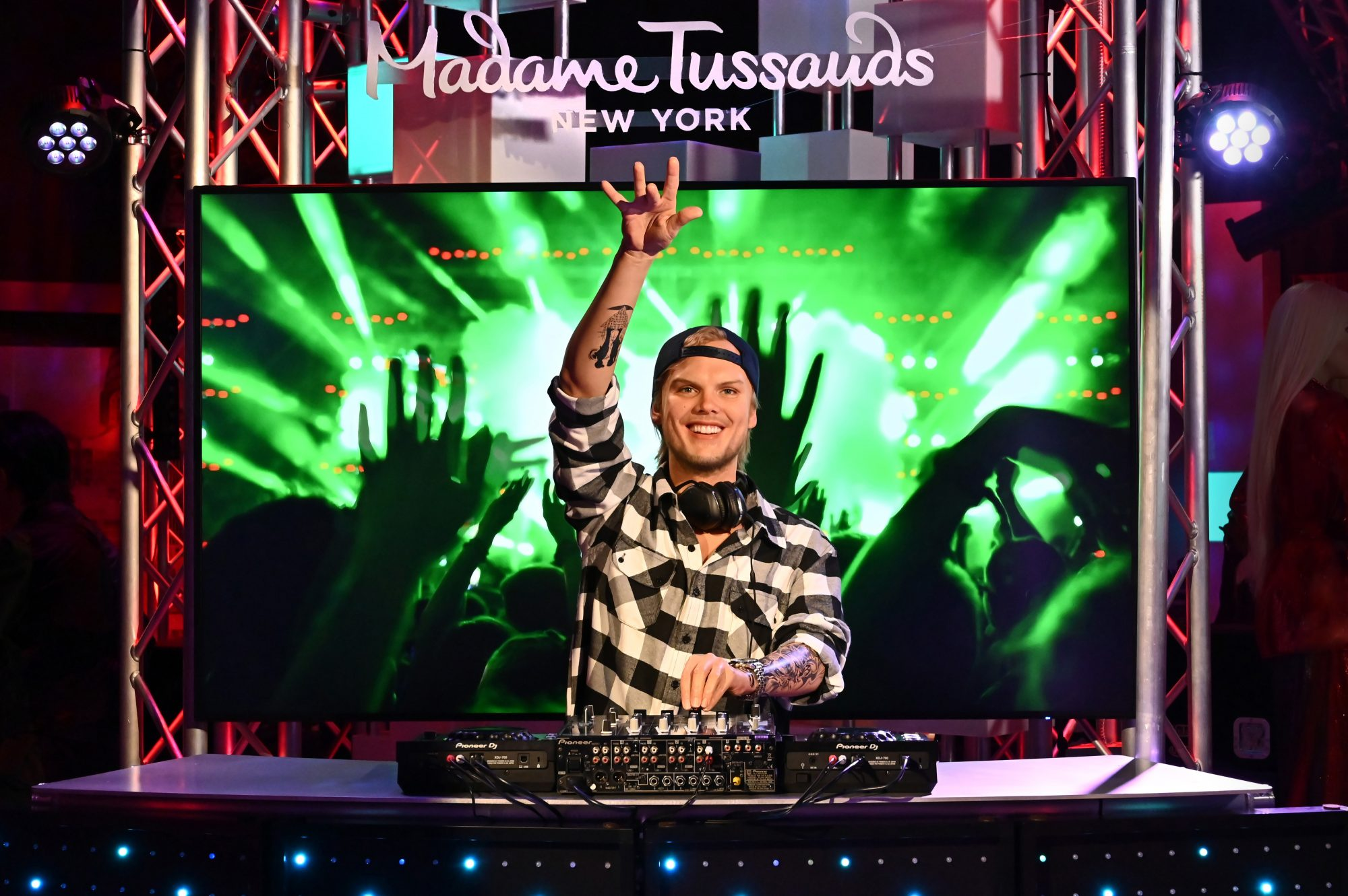 Avicii wax figure
