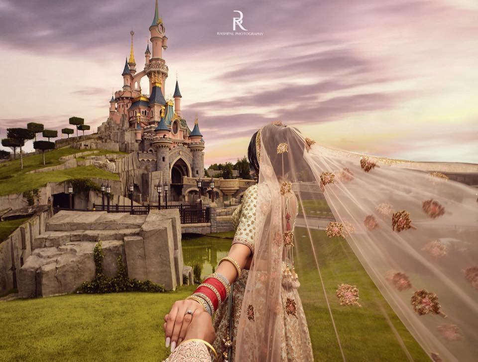 Bollywood wedding Disneyland Paris