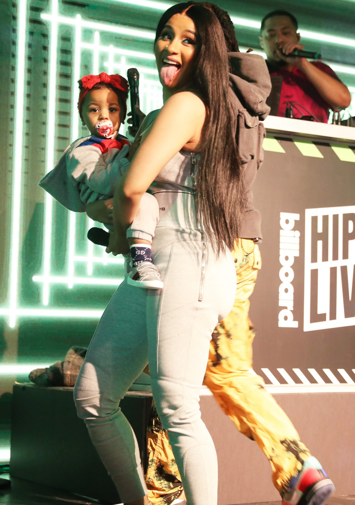 Cardi B with baby Kulture