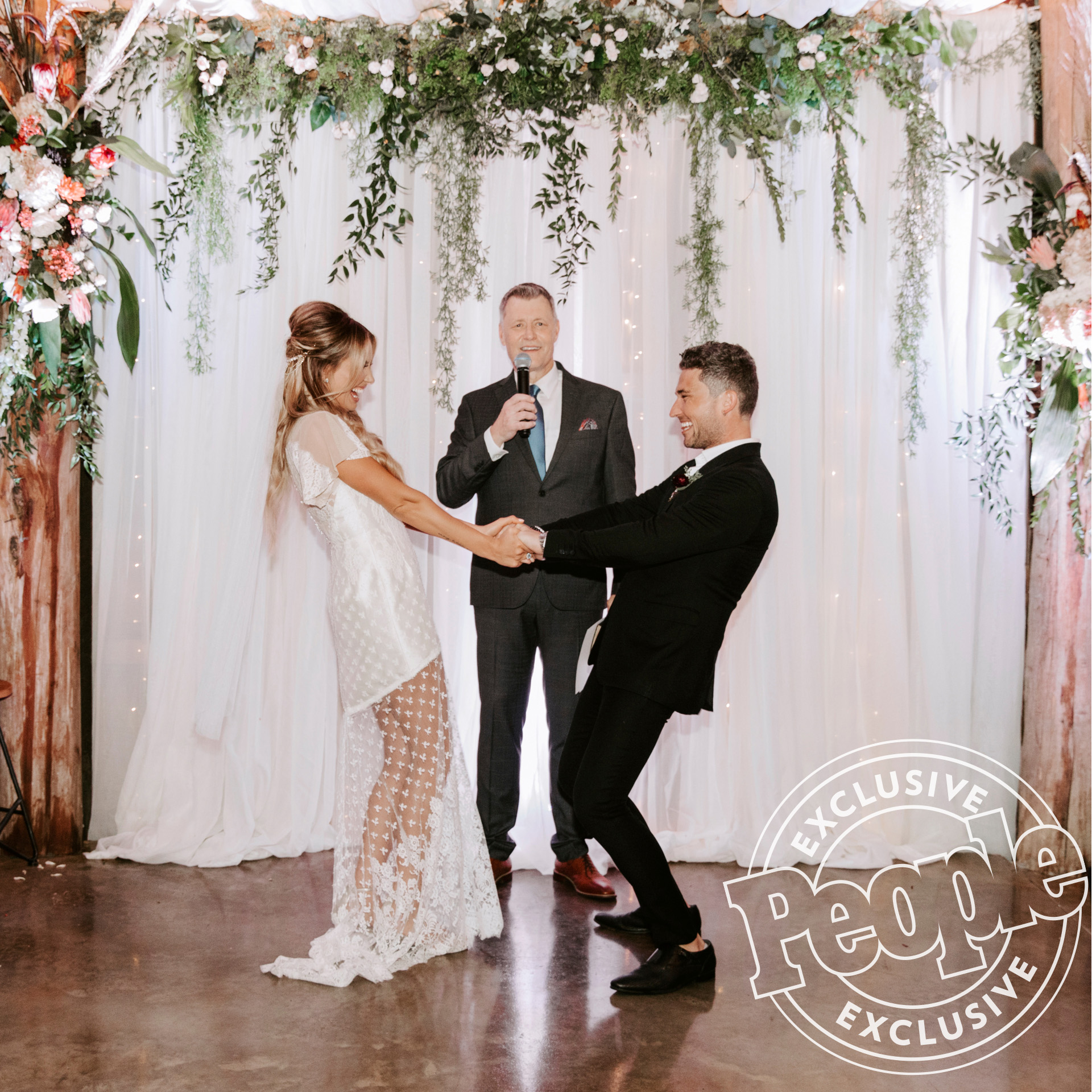 Wedding of Carly Pearce and Michael Ray