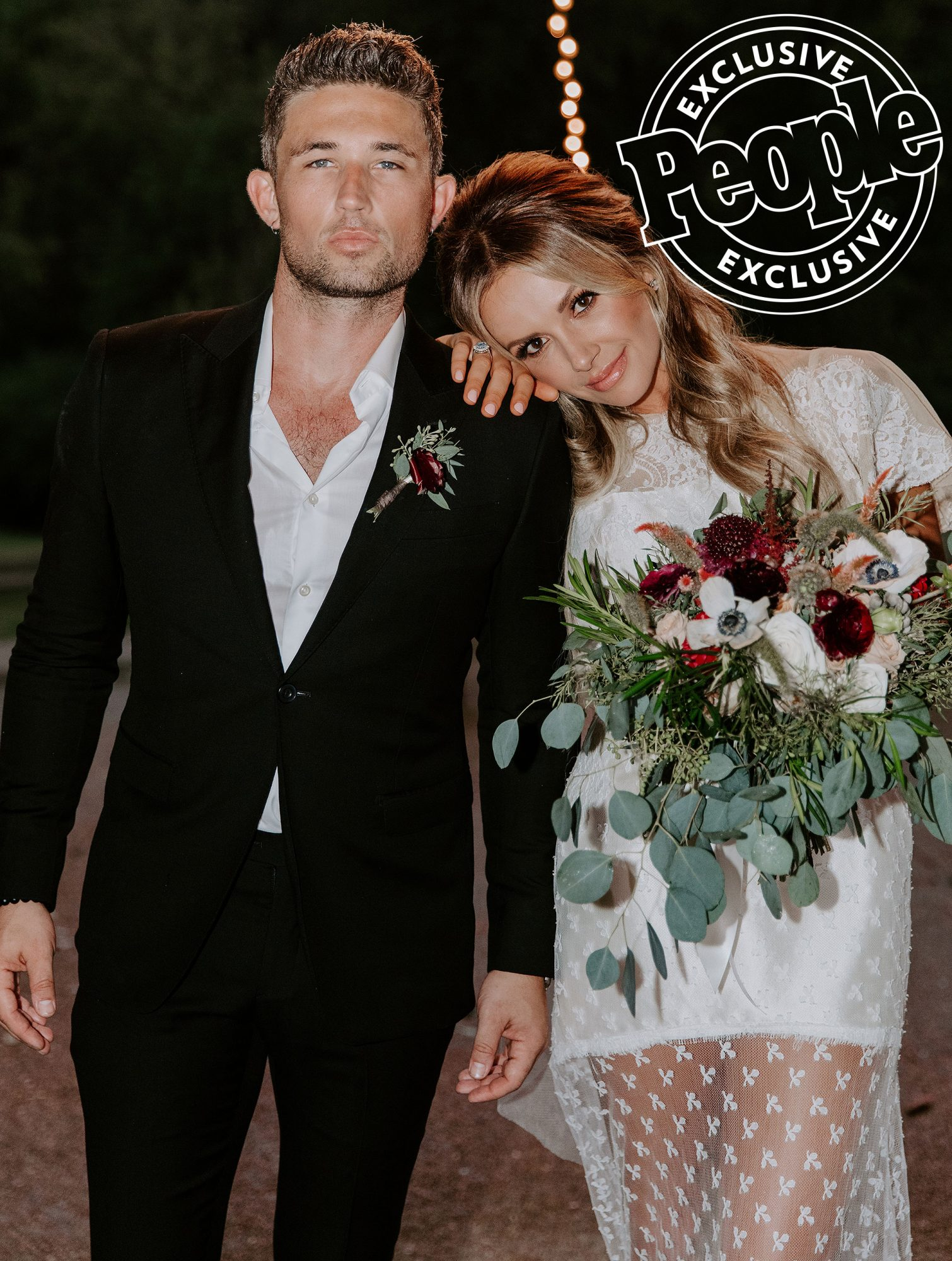 Carly Pearce and Michael Ray wedding