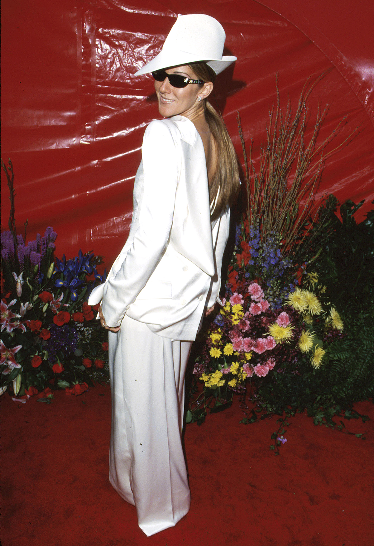 Try Out Celine Dion's Backwards Blazer