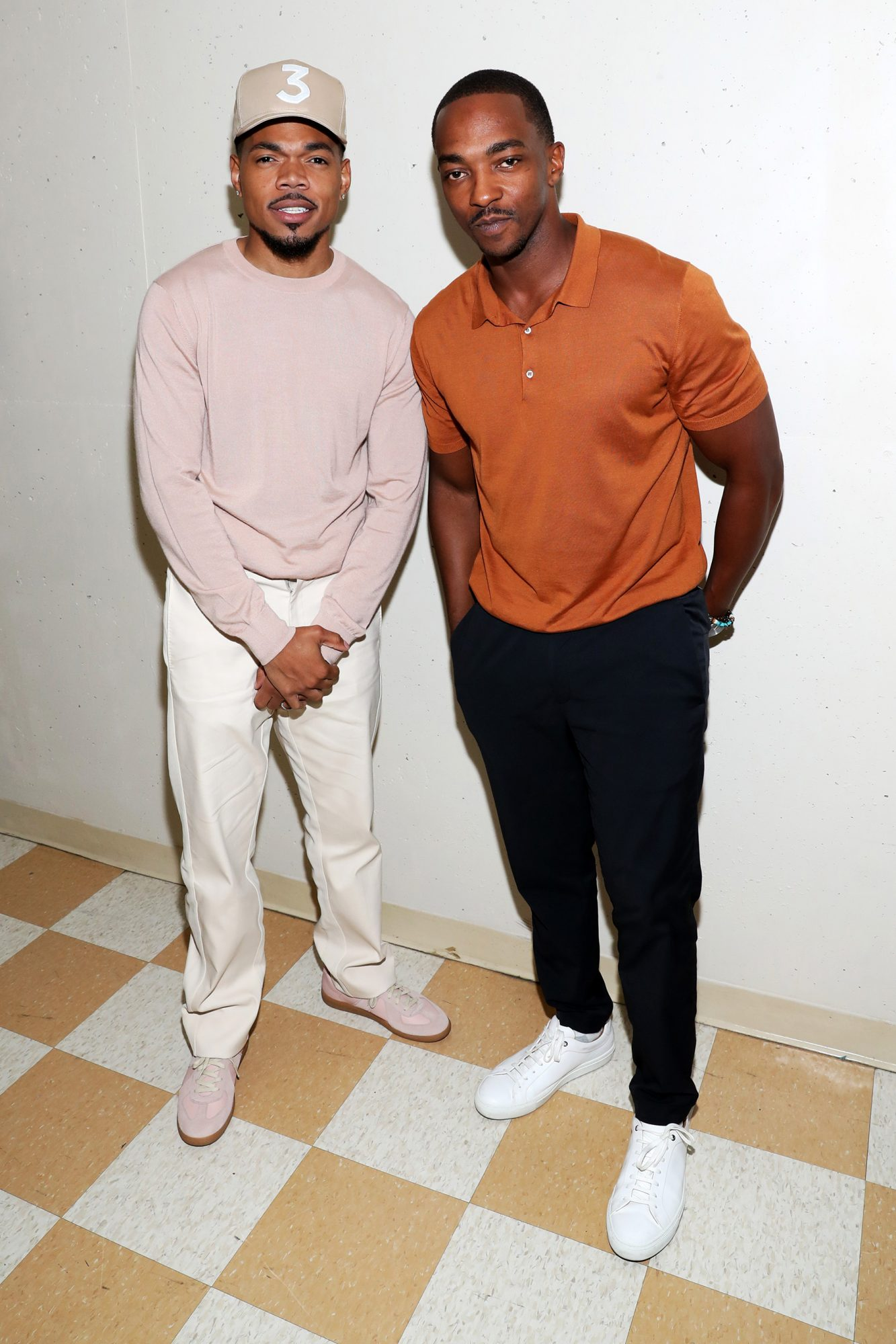 Chance The Rapper and Anthony Mackie