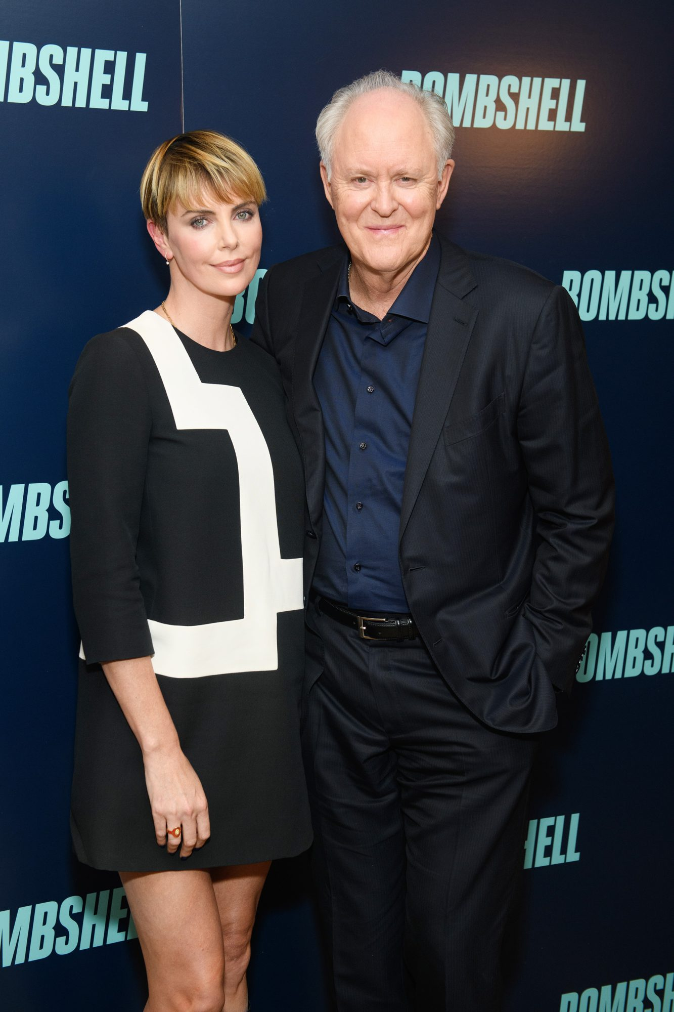 Charlize Theron and John Lithgow