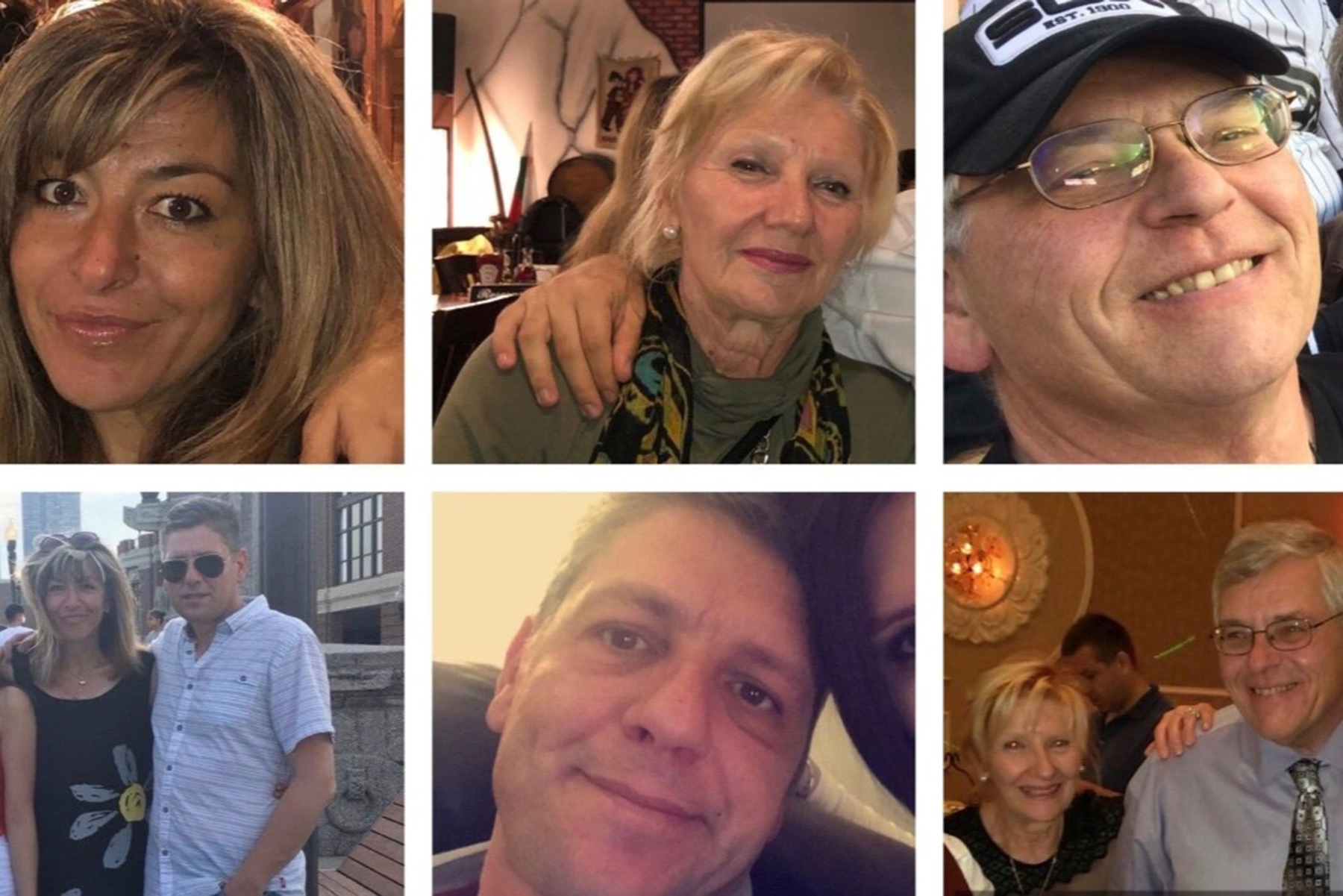 Tzveti, Ivo, Iskra, and David - Victims of Chicago Shooting, October 12, 2019