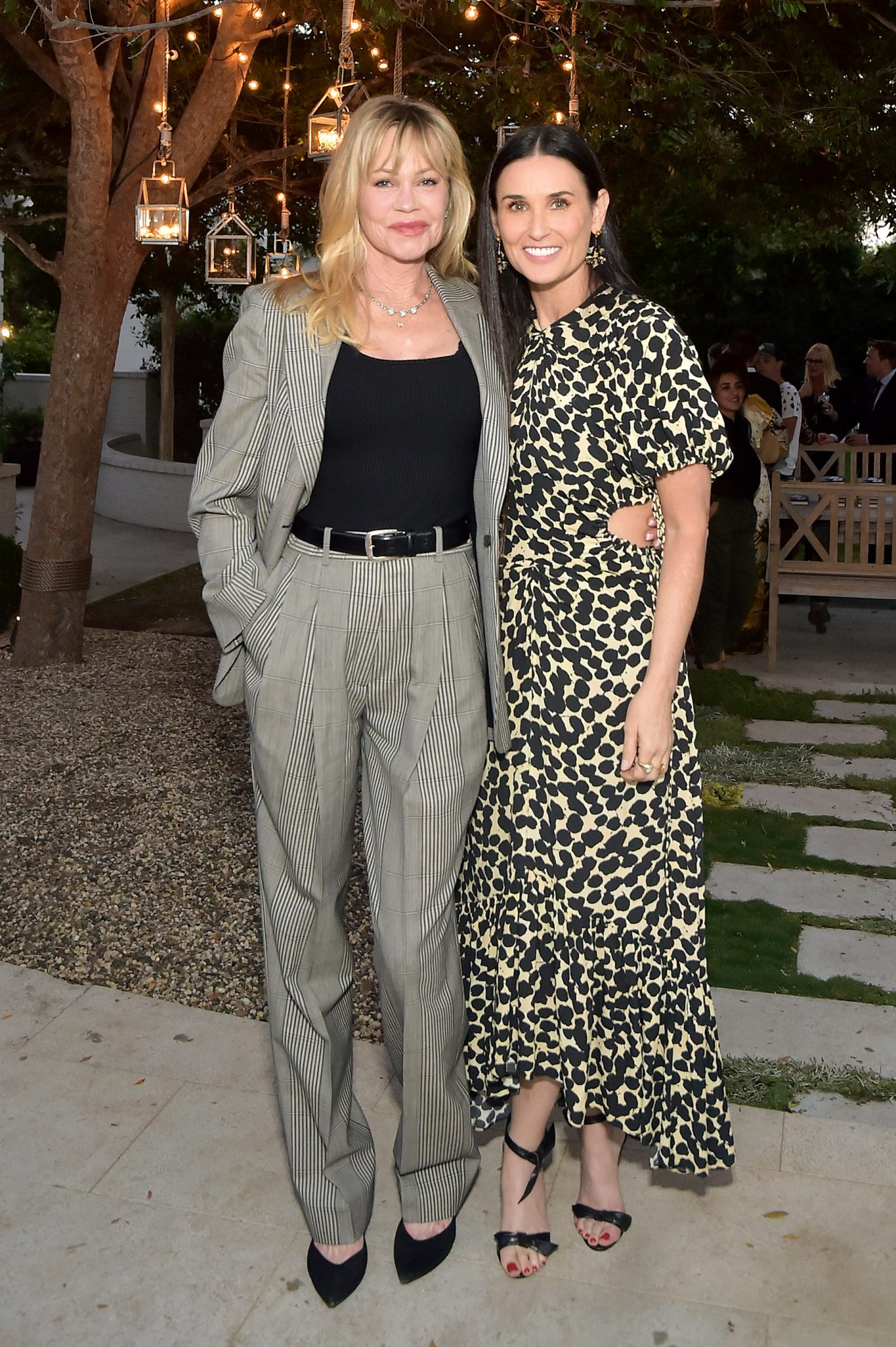 Melanie Griffith and Demi Moore