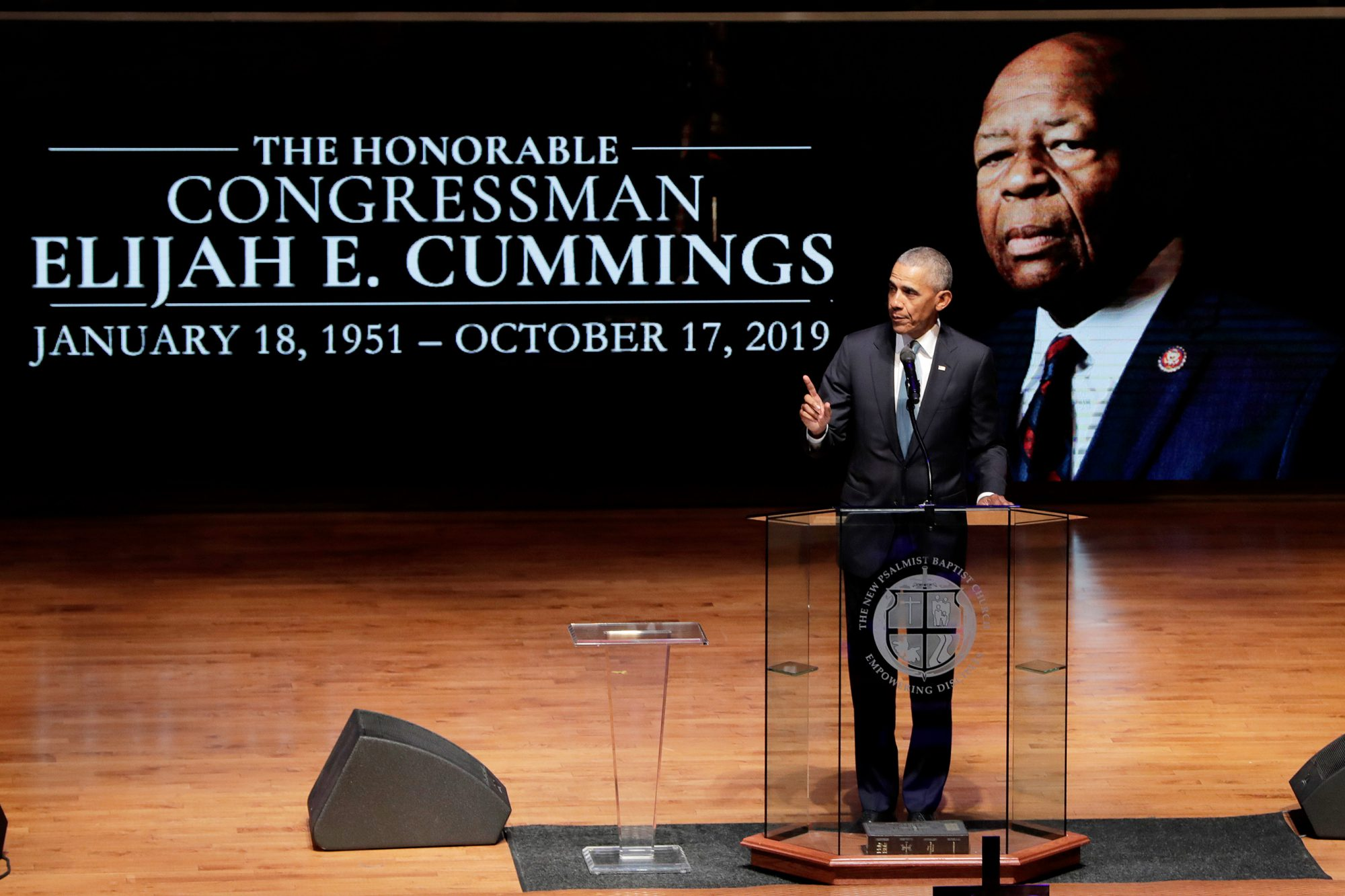 Barack Obama Elijah Cummings