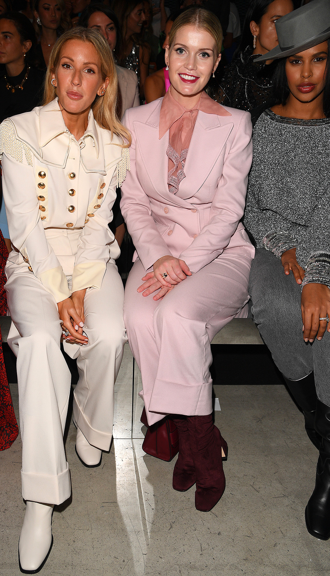 Ellie Goulding, Lady Kitty Spencer and Sabrina Dhowre Elba