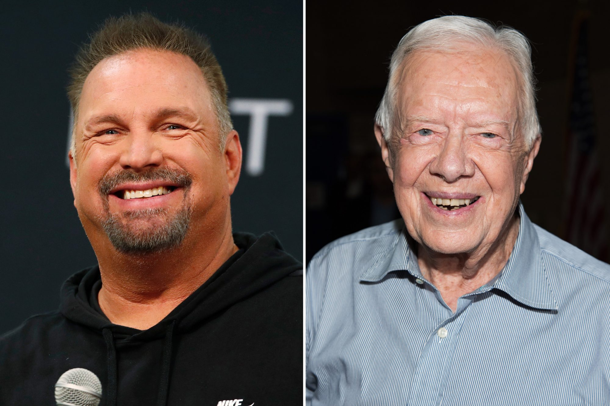 Garth Brooks Jimmy Carter